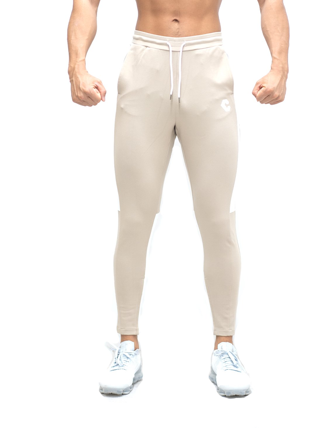 <img class='new_mark_img1' src='https://img.shop-pro.jp/img/new/icons1.gif' style='border:none;display:inline;margin:0px;padding:0px;width:auto;' />CRONOS SIDE HALF LINE PANTS 【BEIGE】