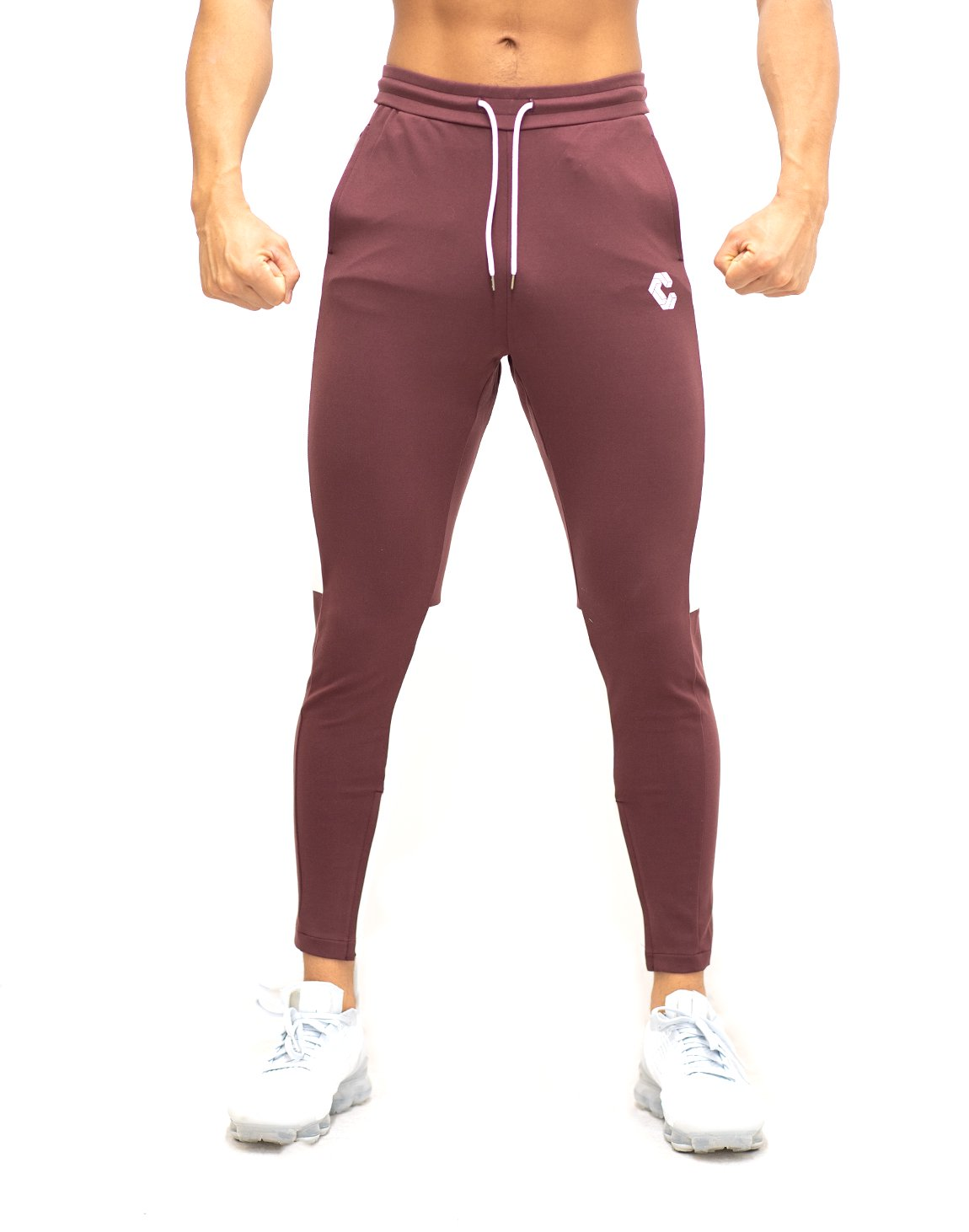 <img class='new_mark_img1' src='https://img.shop-pro.jp/img/new/icons1.gif' style='border:none;display:inline;margin:0px;padding:0px;width:auto;' />CRONOS SIDE HALF LINE PANTS 【BORDEAUX】