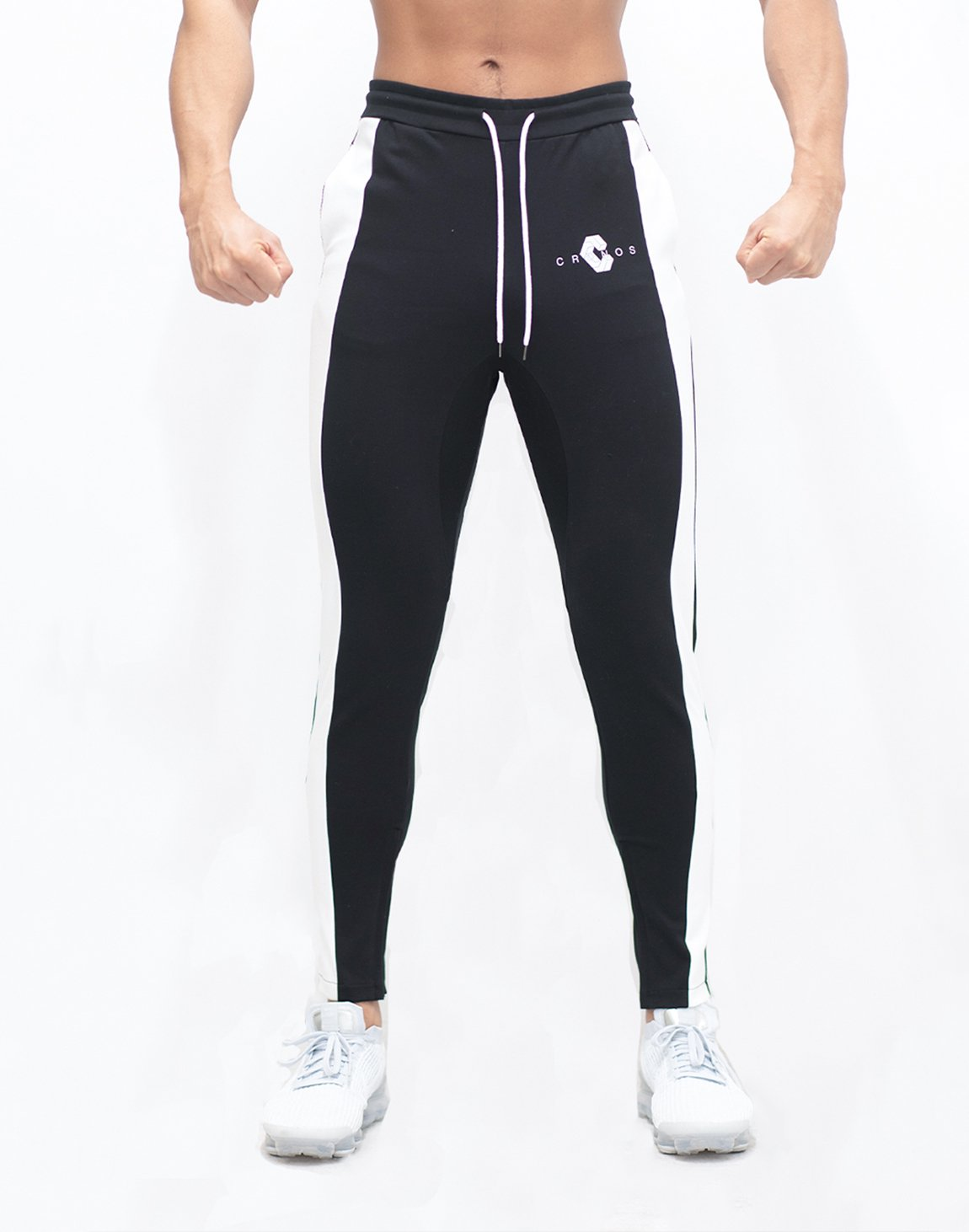 <img class='new_mark_img1' src='https://img.shop-pro.jp/img/new/icons55.gif' style='border:none;display:inline;margin:0px;padding:0px;width:auto;' />Mode Thick line Pants【BLACK】Restock