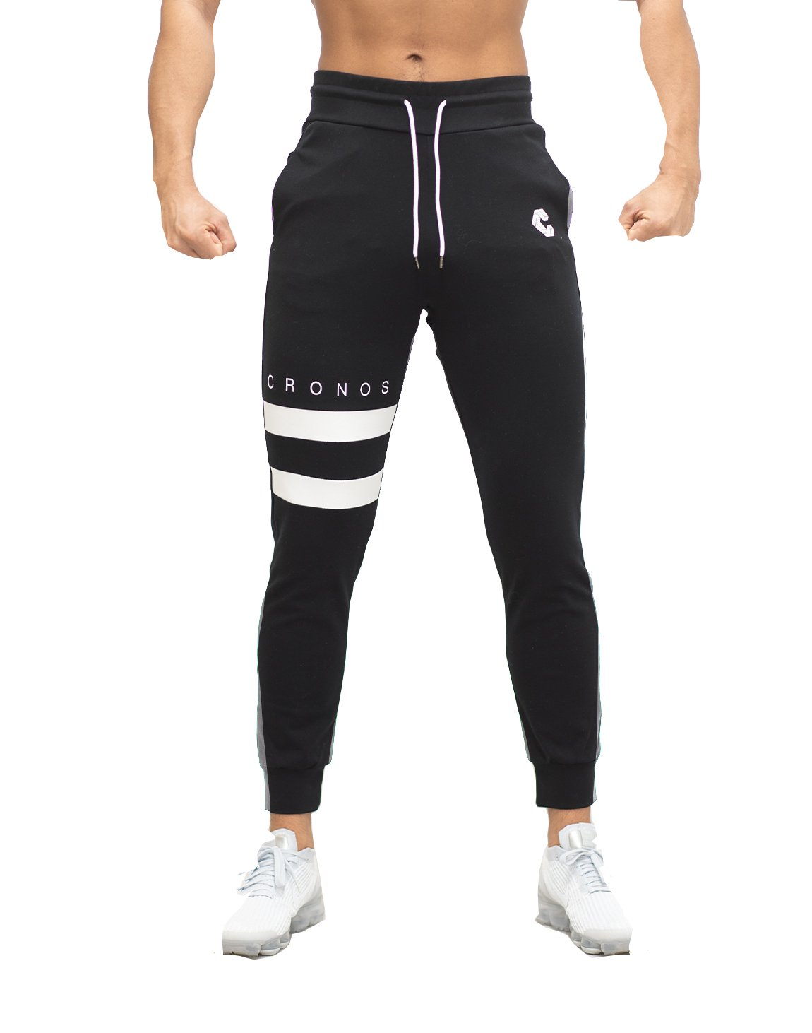 <img class='new_mark_img1' src='https://img.shop-pro.jp/img/new/icons1.gif' style='border:none;display:inline;margin:0px;padding:0px;width:auto;' />MODE TWO LINE JOGGER PANTS 【BLACK】Restock