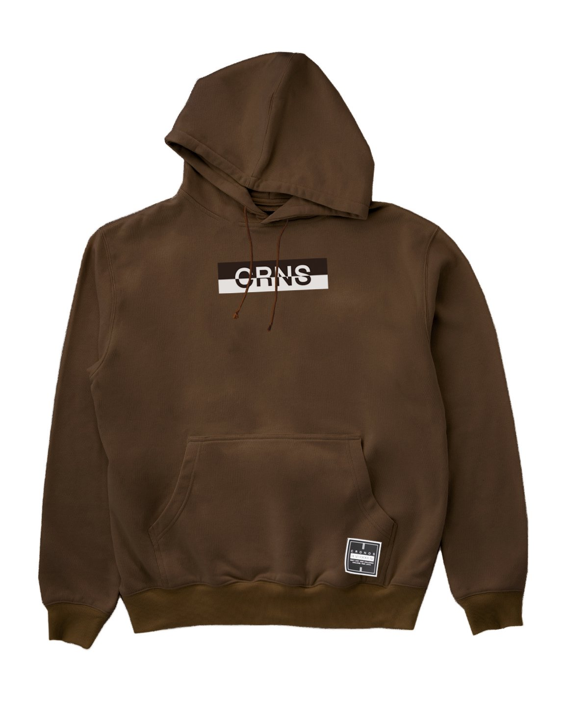 <img class='new_mark_img1' src='https://img.shop-pro.jp/img/new/icons1.gif' style='border:none;display:inline;margin:0px;padding:0px;width:auto;' />CRNS BOX LOGO PULL OVER PARKA 【BROWN】
