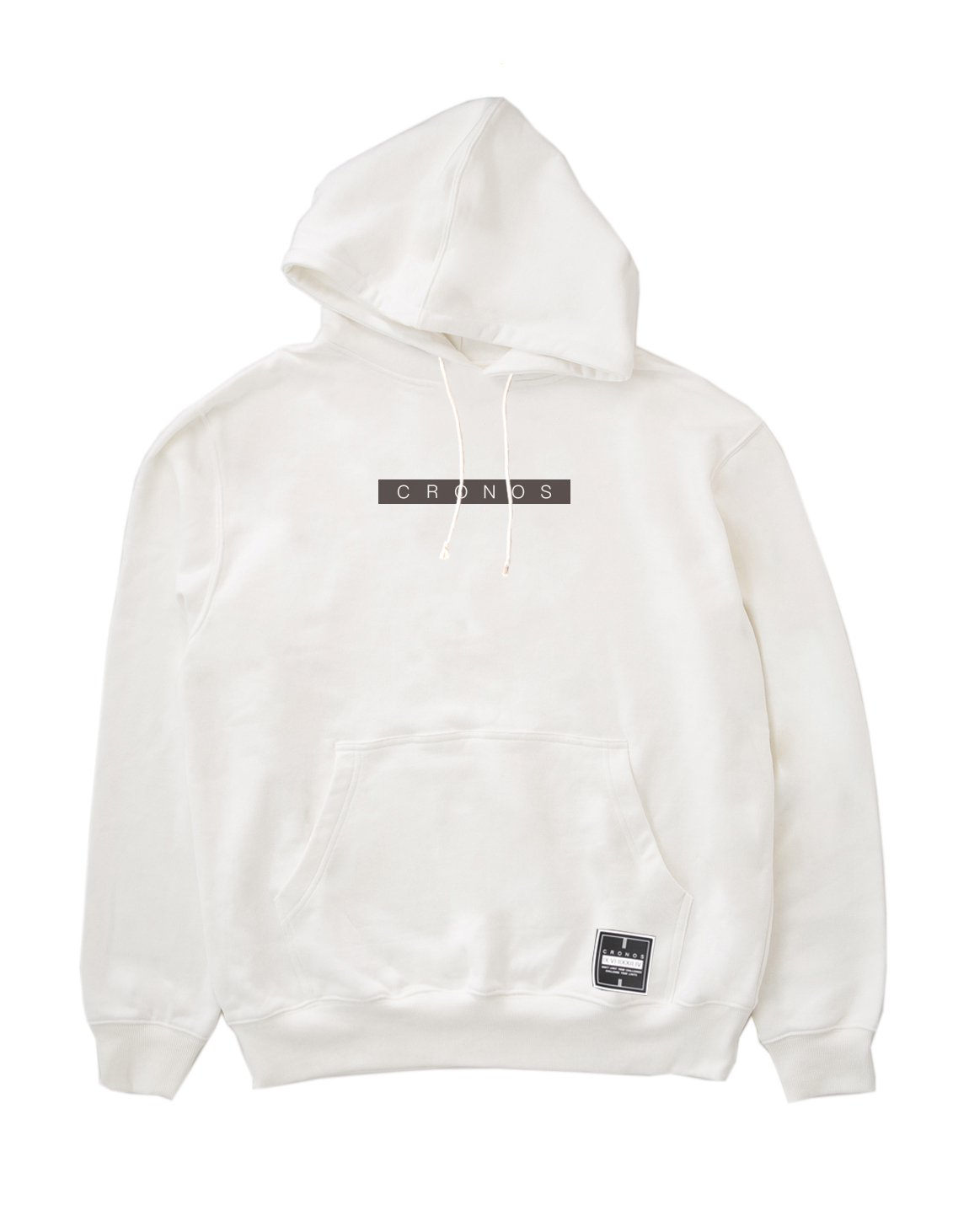 <img class='new_mark_img1' src='https://img.shop-pro.jp/img/new/icons1.gif' style='border:none;display:inline;margin:0px;padding:0px;width:auto;' />CRONOS BOX LOGO PULL OVER PARKA 【WHITE】