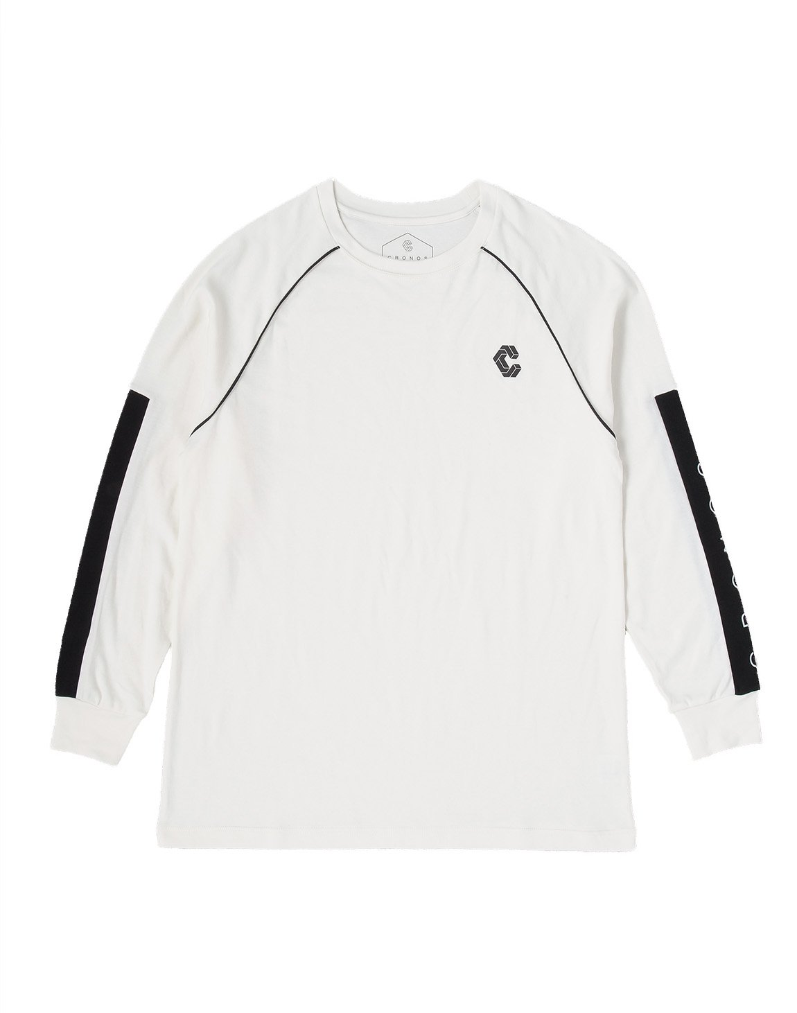 <img class='new_mark_img1' src='https://img.shop-pro.jp/img/new/icons1.gif' style='border:none;display:inline;margin:0px;padding:0px;width:auto;' />CRONOS ARM LOGO LONG SLEEVE【WHITE】