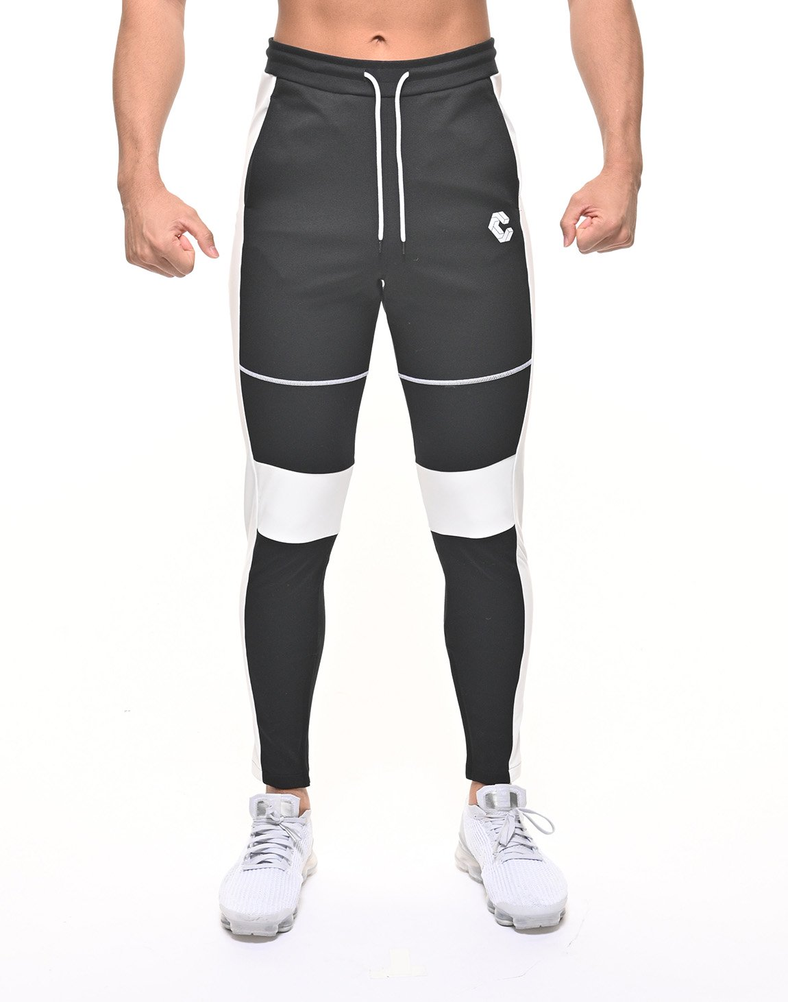 <img class='new_mark_img1' src='https://img.shop-pro.jp/img/new/icons55.gif' style='border:none;display:inline;margin:0px;padding:0px;width:auto;' />CRONOS THIGH STITCH LINE PANTS 【BLACK】