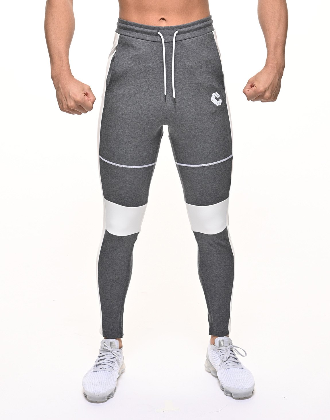 <img class='new_mark_img1' src='https://img.shop-pro.jp/img/new/icons55.gif' style='border:none;display:inline;margin:0px;padding:0px;width:auto;' />CRONOS THIGH STITCH LINE PANTS 【C.GRAY】
