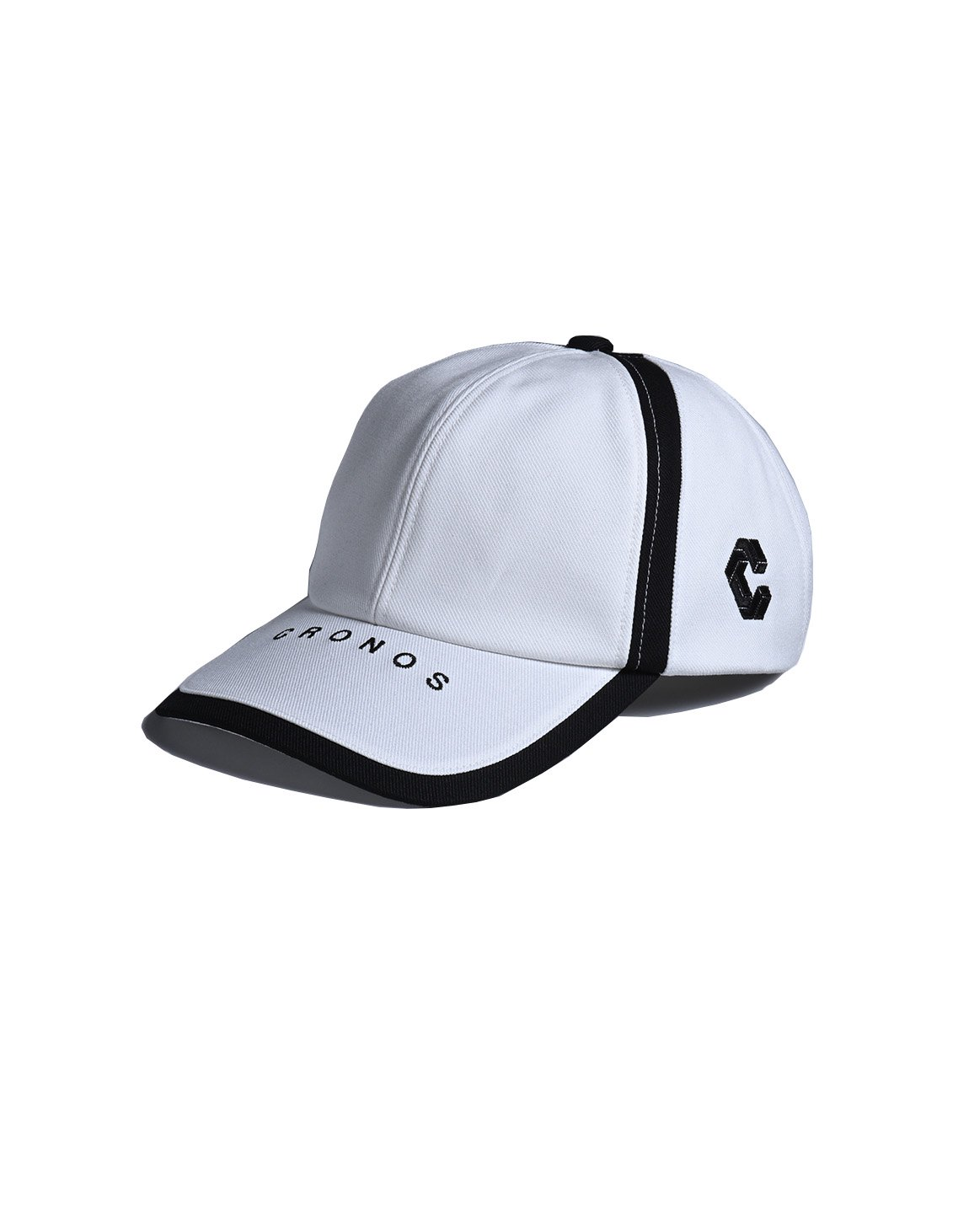 <img class='new_mark_img1' src='https://img.shop-pro.jp/img/new/icons1.gif' style='border:none;display:inline;margin:0px;padding:0px;width:auto;' />CRONOS LINE TAPE CAP 【WHITE】