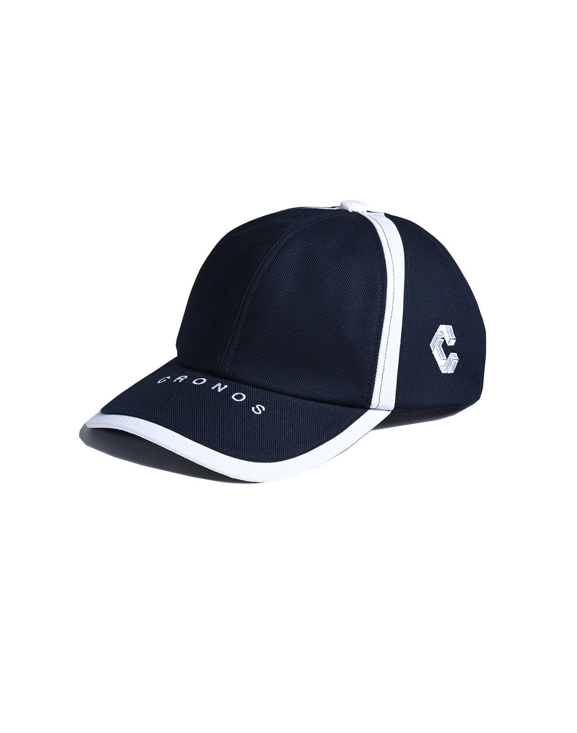 <img class='new_mark_img1' src='https://img.shop-pro.jp/img/new/icons1.gif' style='border:none;display:inline;margin:0px;padding:0px;width:auto;' />CRONOS LINE TAPE CAP 【NAVY】