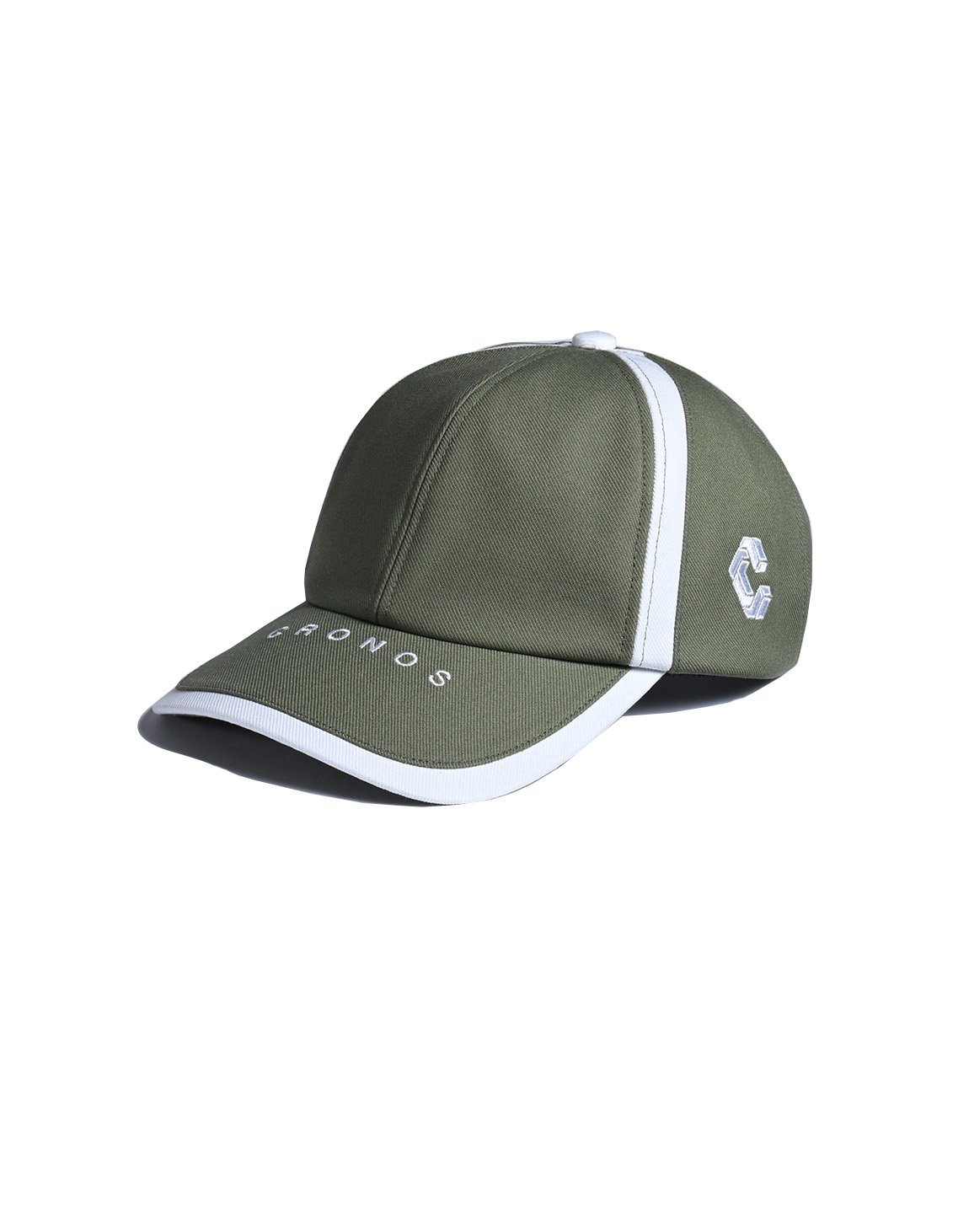 <img class='new_mark_img1' src='https://img.shop-pro.jp/img/new/icons1.gif' style='border:none;display:inline;margin:0px;padding:0px;width:auto;' />CRONOS LINE TAPE CAP 【OLIVE&KHAKI】