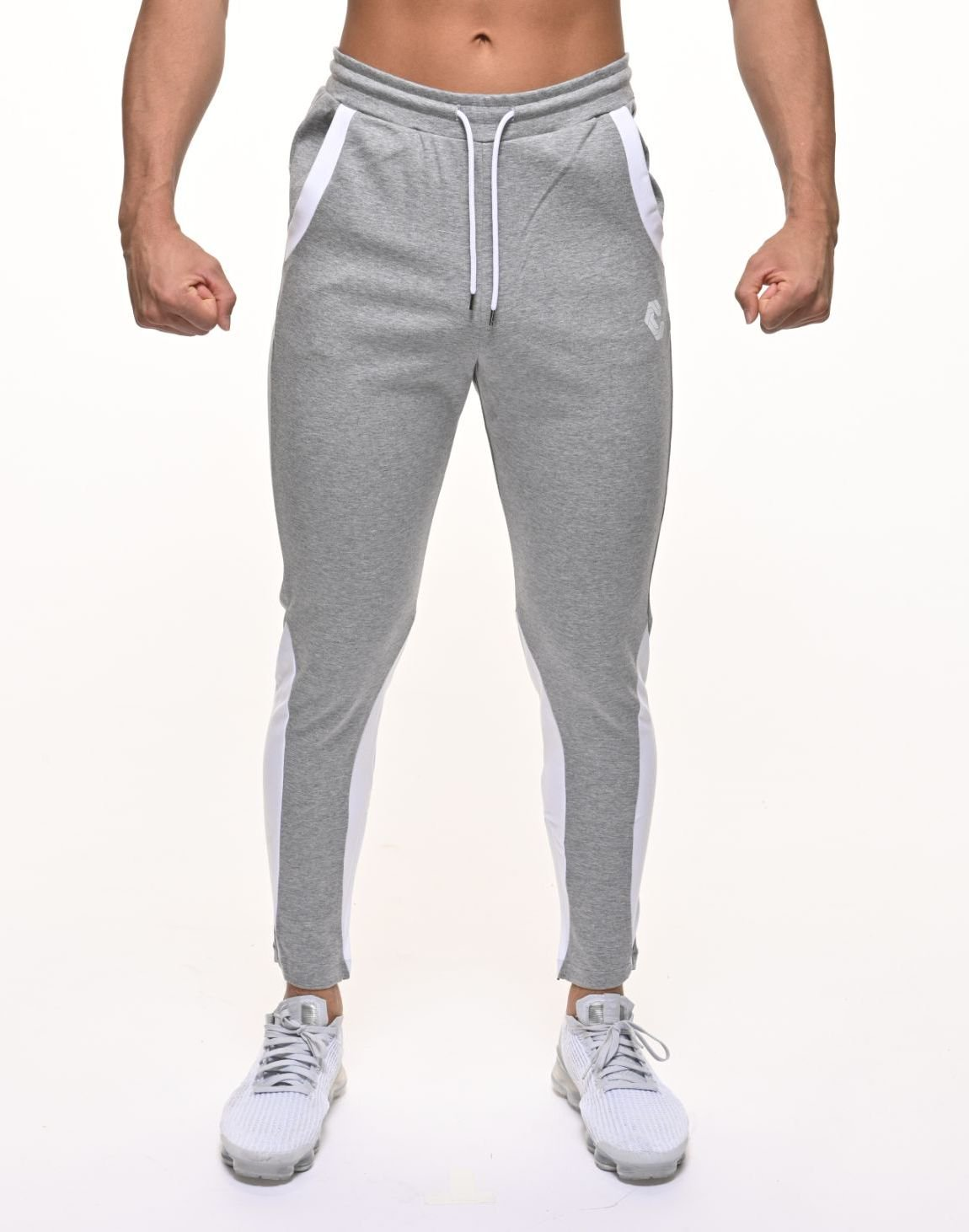 <img class='new_mark_img1' src='https://img.shop-pro.jp/img/new/icons1.gif' style='border:none;display:inline;margin:0px;padding:0px;width:auto;' />CRNS CALF SHAPE LINE PANTS【GRAY】