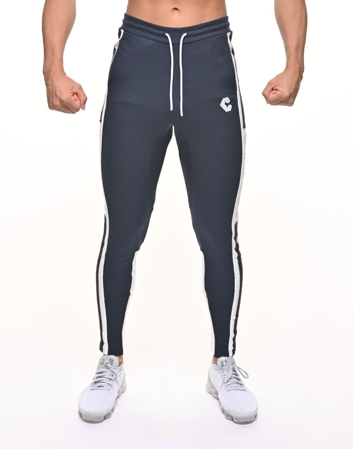 <img class='new_mark_img1' src='https://img.shop-pro.jp/img/new/icons1.gif' style='border:none;display:inline;margin:0px;padding:0px;width:auto;' />CRONOS SIDE THICK TAPE PANTS【NAVY】