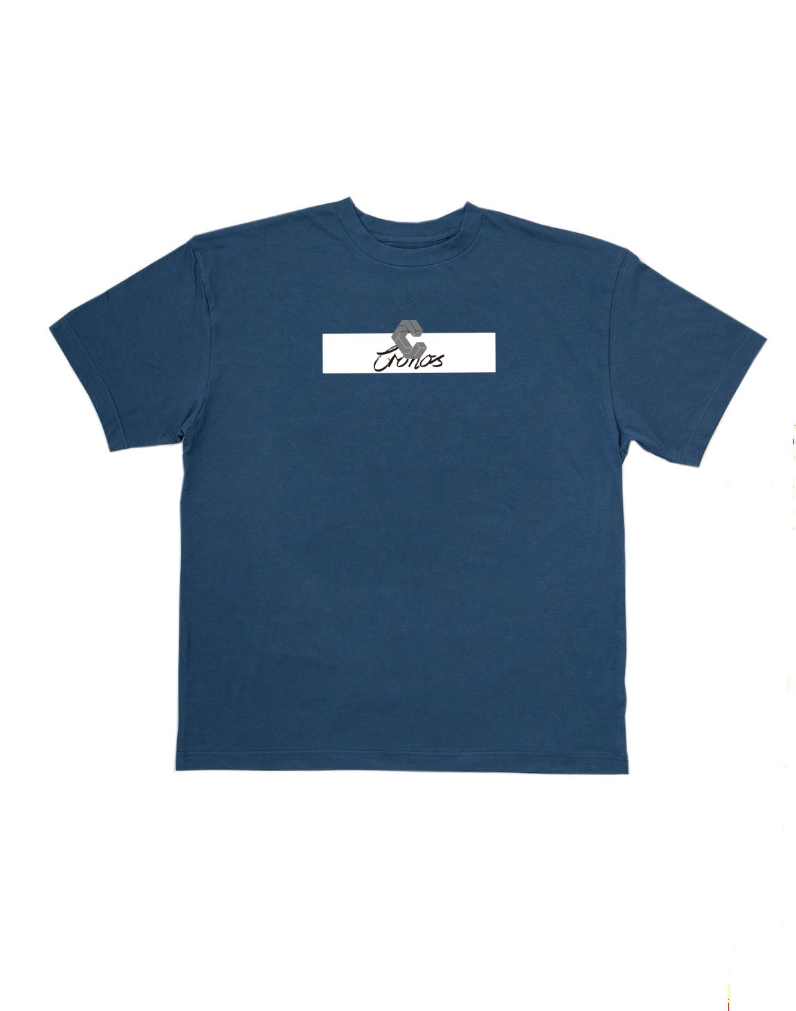 <img class='new_mark_img1' src='https://img.shop-pro.jp/img/new/icons1.gif' style='border:none;display:inline;margin:0px;padding:0px;width:auto;' />CRONOS CURSIVE LOGO T-SHIRT【BLUE】