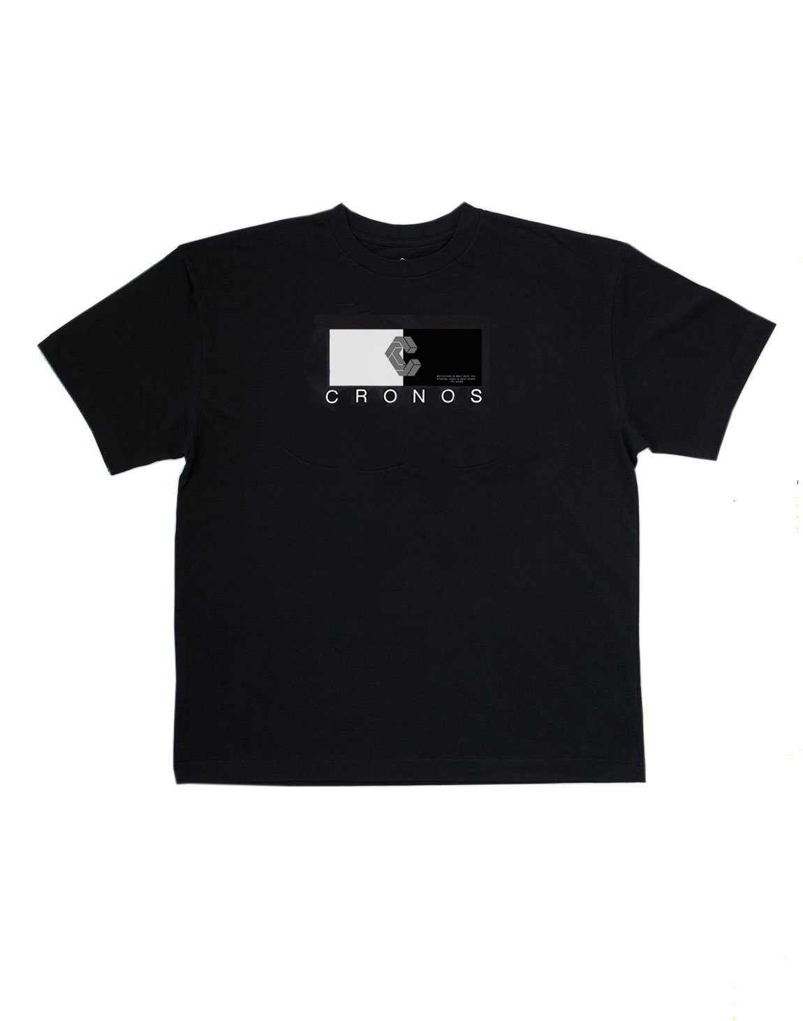 <img class='new_mark_img1' src='https://img.shop-pro.jp/img/new/icons1.gif' style='border:none;display:inline;margin:0px;padding:0px;width:auto;' />CRONOS HALF COLOR T-SHIRT【BLACK】