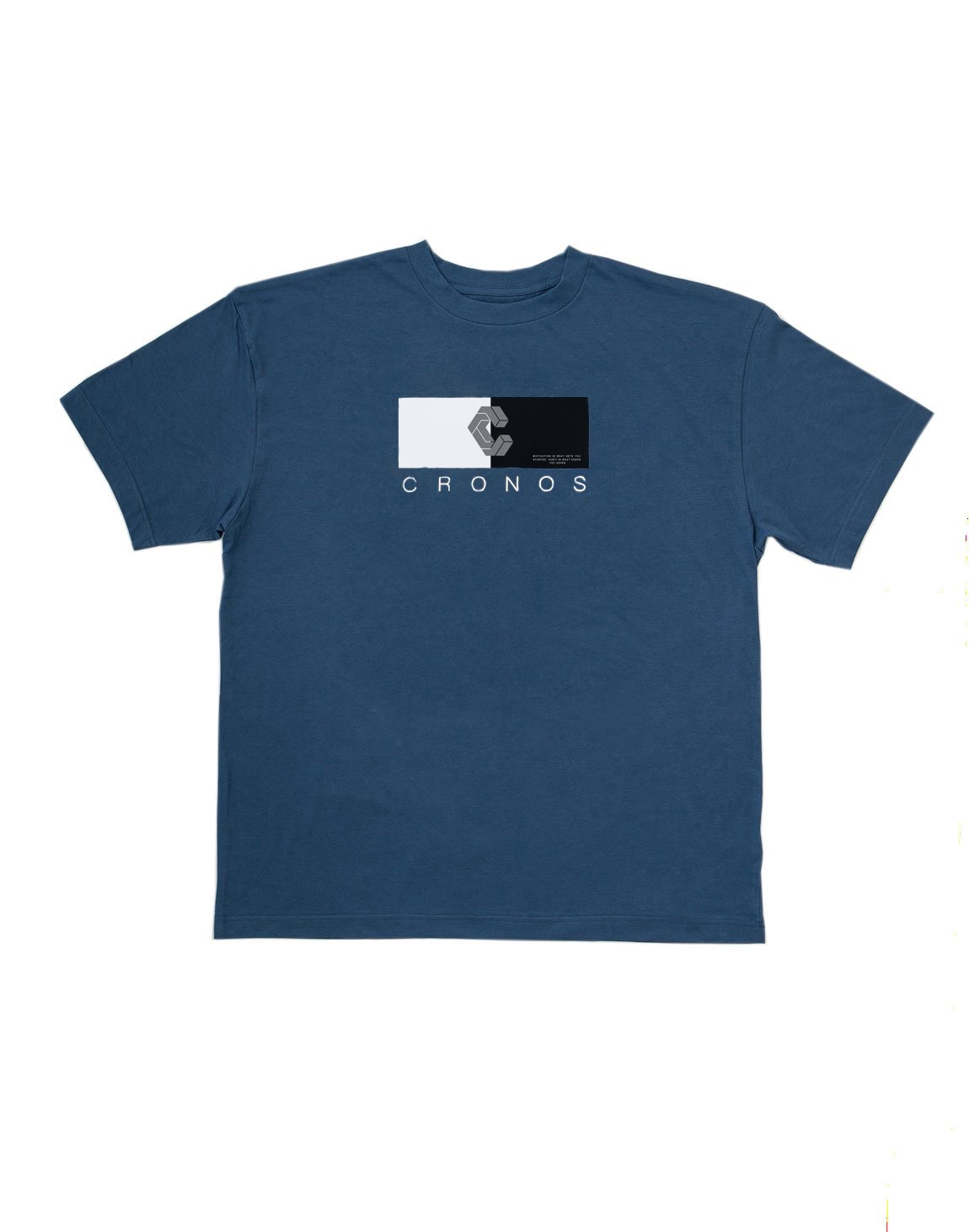 <img class='new_mark_img1' src='https://img.shop-pro.jp/img/new/icons1.gif' style='border:none;display:inline;margin:0px;padding:0px;width:auto;' />CRONOS HALF COLOR T-SHIRT【BULE】