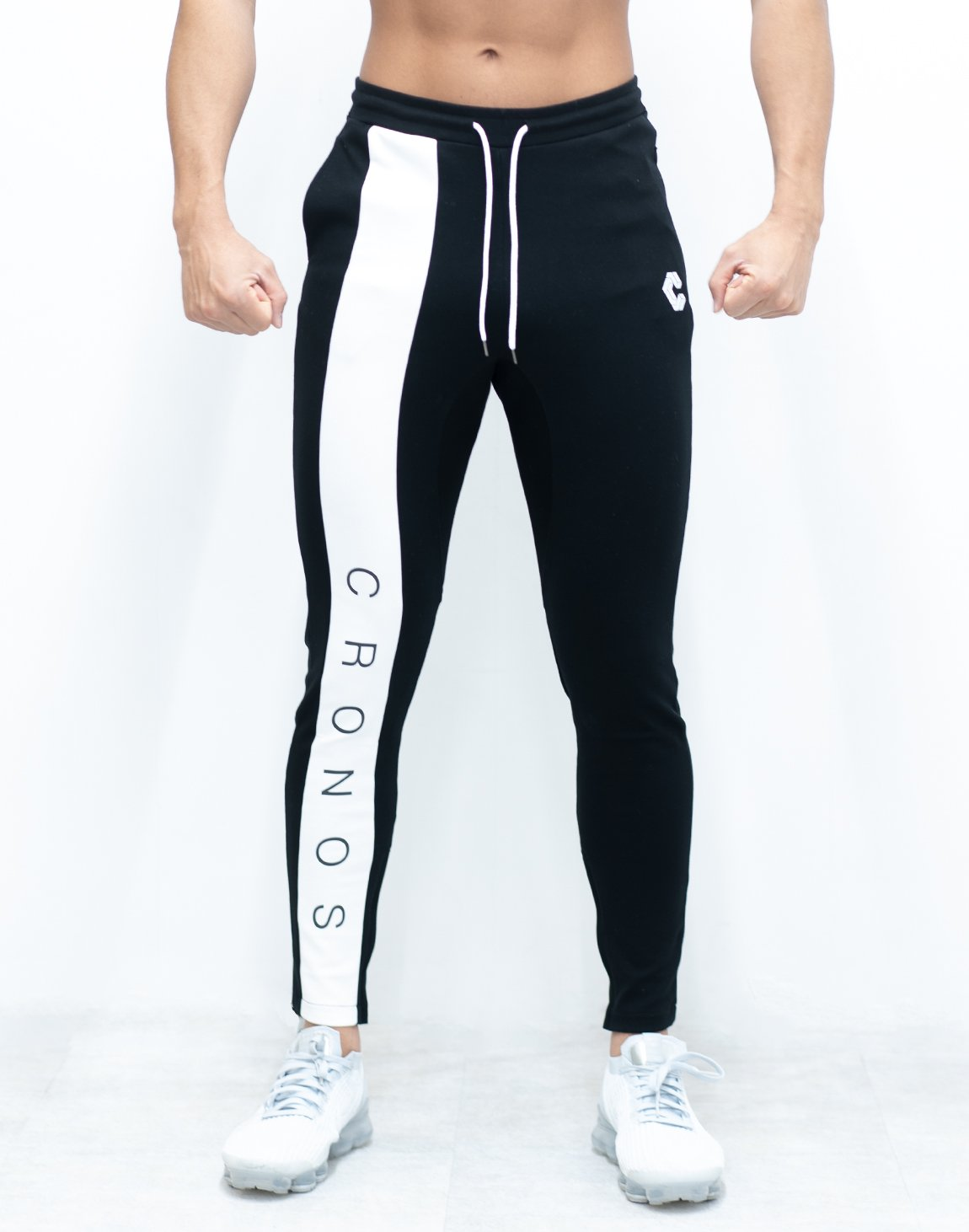 <img class='new_mark_img1' src='https://img.shop-pro.jp/img/new/icons1.gif' style='border:none;display:inline;margin:0px;padding:0px;width:auto;' />CRONOS NEW LINE PANTS 【BLACK×WHITE】