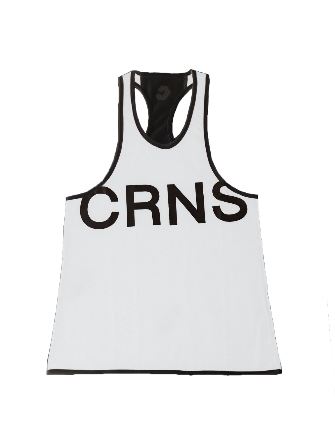 <img class='new_mark_img1' src='https://img.shop-pro.jp/img/new/icons55.gif' style='border:none;display:inline;margin:0px;padding:0px;width:auto;' />CRNS NEW BIG FONT LOGO TANK TOP 【WHITE】