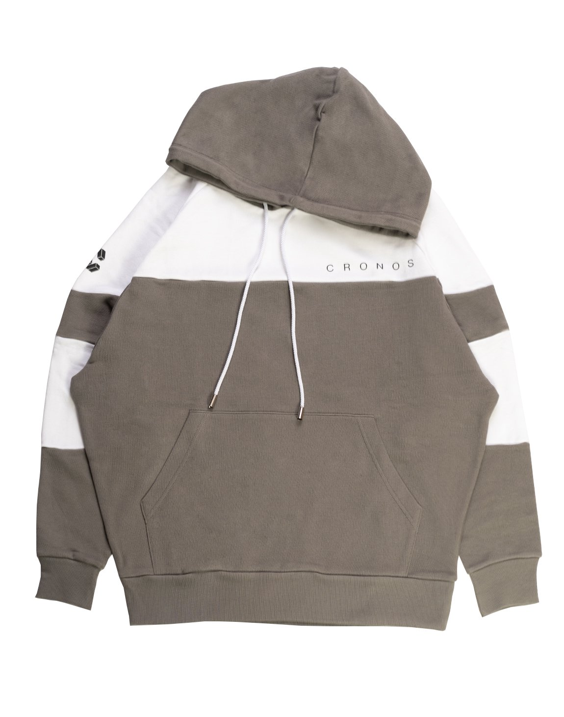 <img class='new_mark_img1' src='https://img.shop-pro.jp/img/new/icons1.gif' style='border:none;display:inline;margin:0px;padding:0px;width:auto;' />CRONOS NEW BICOLOR HOODY【GRAY×WHITE】