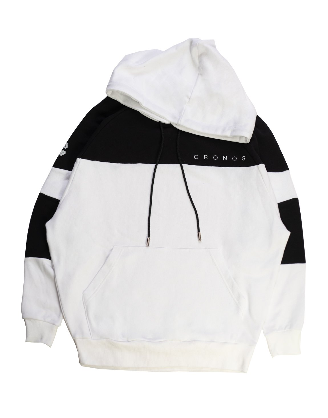 <img class='new_mark_img1' src='https://img.shop-pro.jp/img/new/icons1.gif' style='border:none;display:inline;margin:0px;padding:0px;width:auto;' />CRONOS NEW BICOLOR HOODY【WHITE×BLACK】