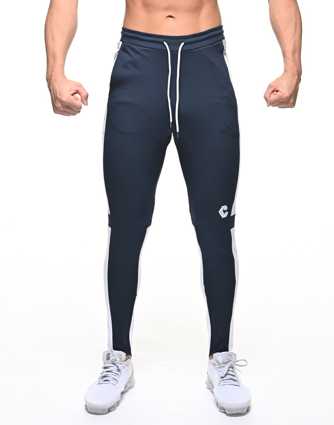 <img class='new_mark_img1' src='https://img.shop-pro.jp/img/new/icons1.gif' style='border:none;display:inline;margin:0px;padding:0px;width:auto;' />CRONOS NEW THICK LINE PANT 【NAVY×WHITE】