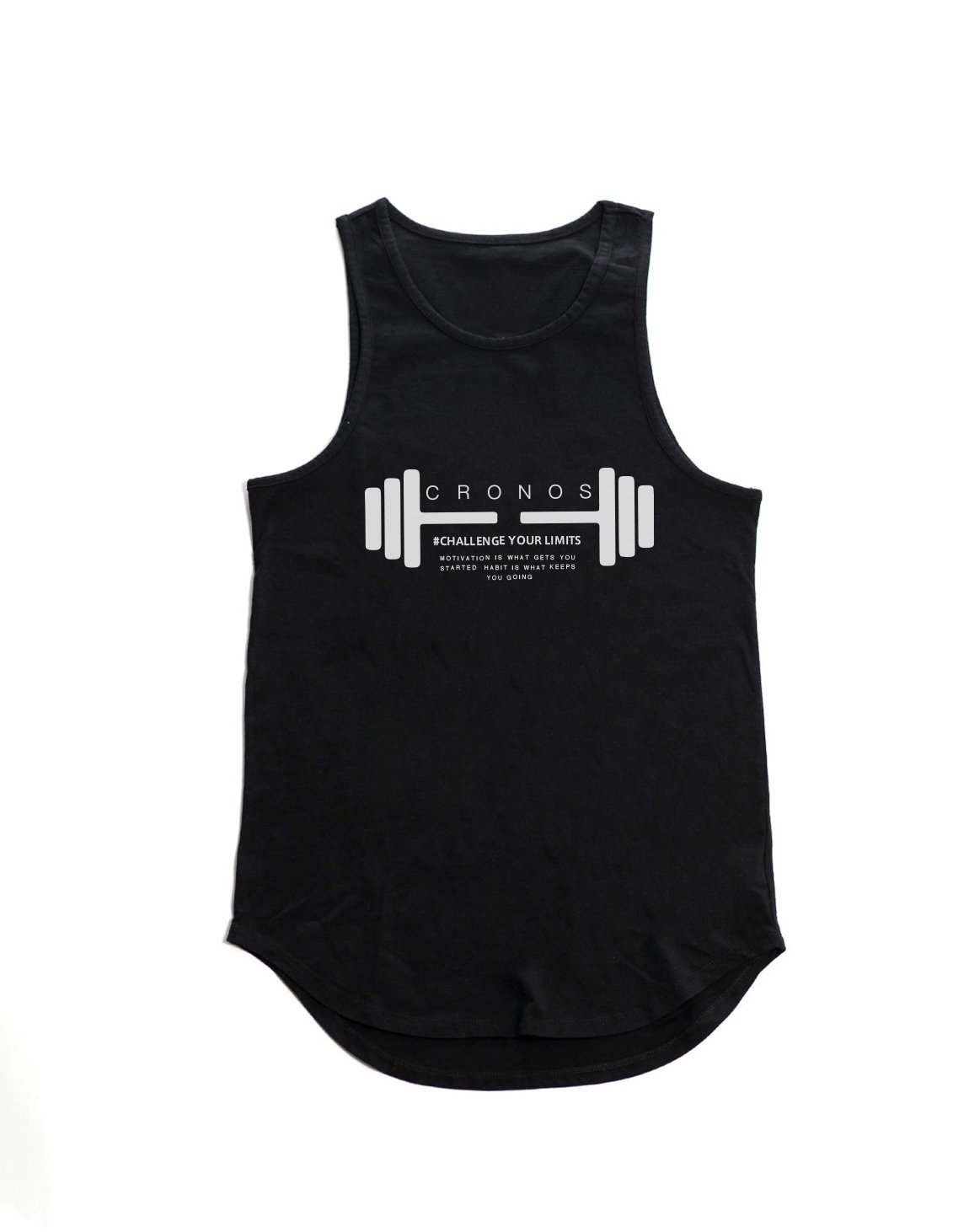 <img class='new_mark_img1' src='https://img.shop-pro.jp/img/new/icons1.gif' style='border:none;display:inline;margin:0px;padding:0px;width:auto;' />CRONOS DUMBBELL LOGO TANK TOP【BLACK】