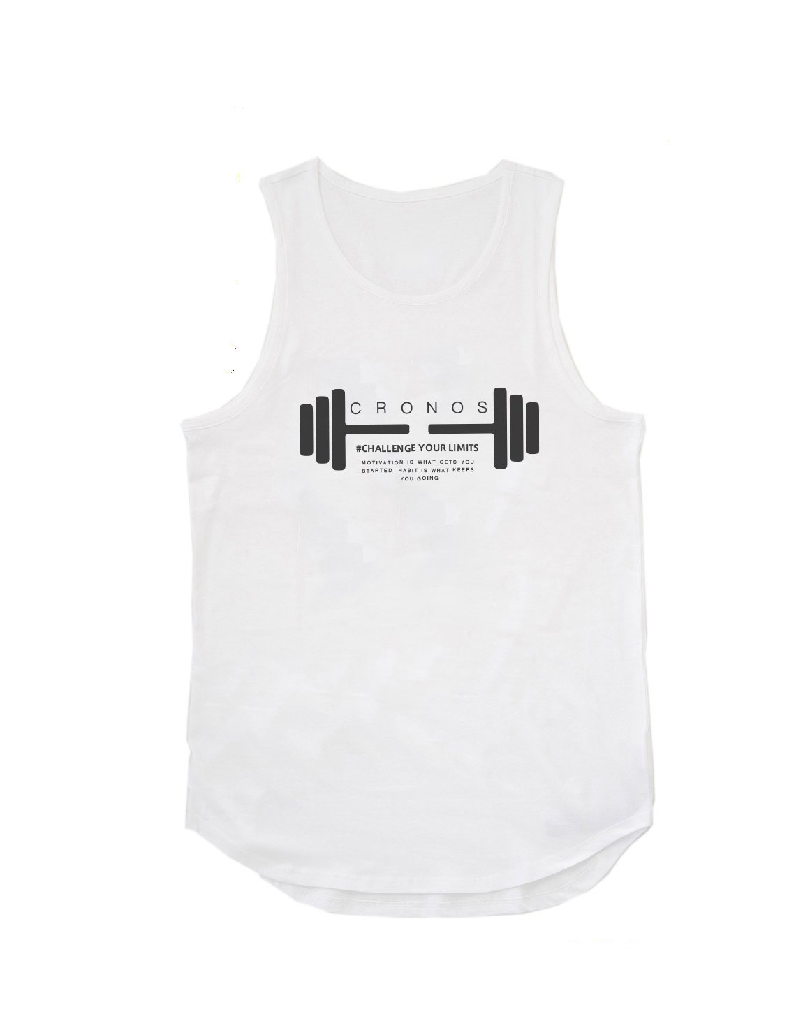 <img class='new_mark_img1' src='https://img.shop-pro.jp/img/new/icons1.gif' style='border:none;display:inline;margin:0px;padding:0px;width:auto;' />CRONOS DUMBBELL LOGO TANK TOP【WHITE】