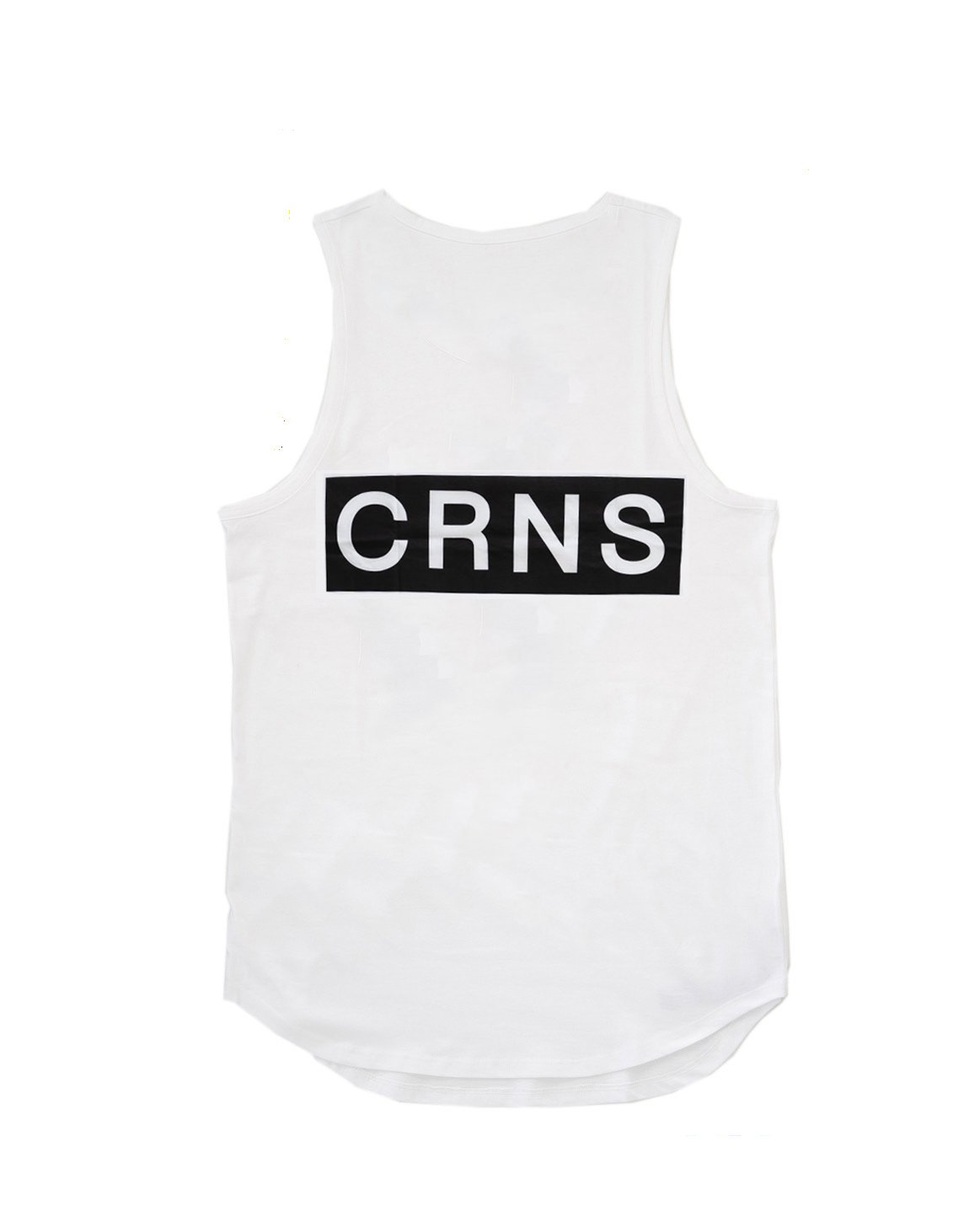 <img class='new_mark_img1' src='https://img.shop-pro.jp/img/new/icons1.gif' style='border:none;display:inline;margin:0px;padding:0px;width:auto;' />CRONOS NEW  BACK BIG LOGO TANK TOP【WHITE】