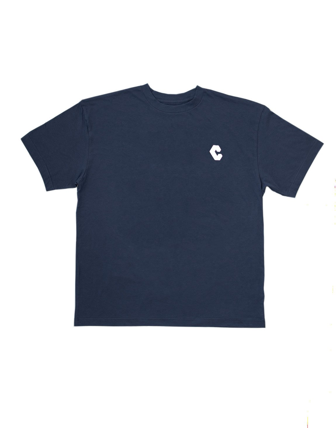 <img class='new_mark_img1' src='https://img.shop-pro.jp/img/new/icons55.gif' style='border:none;display:inline;margin:0px;padding:0px;width:auto;' />CRNS NEW BACK BIG  LOGO T-SHIRTS【NAVY】