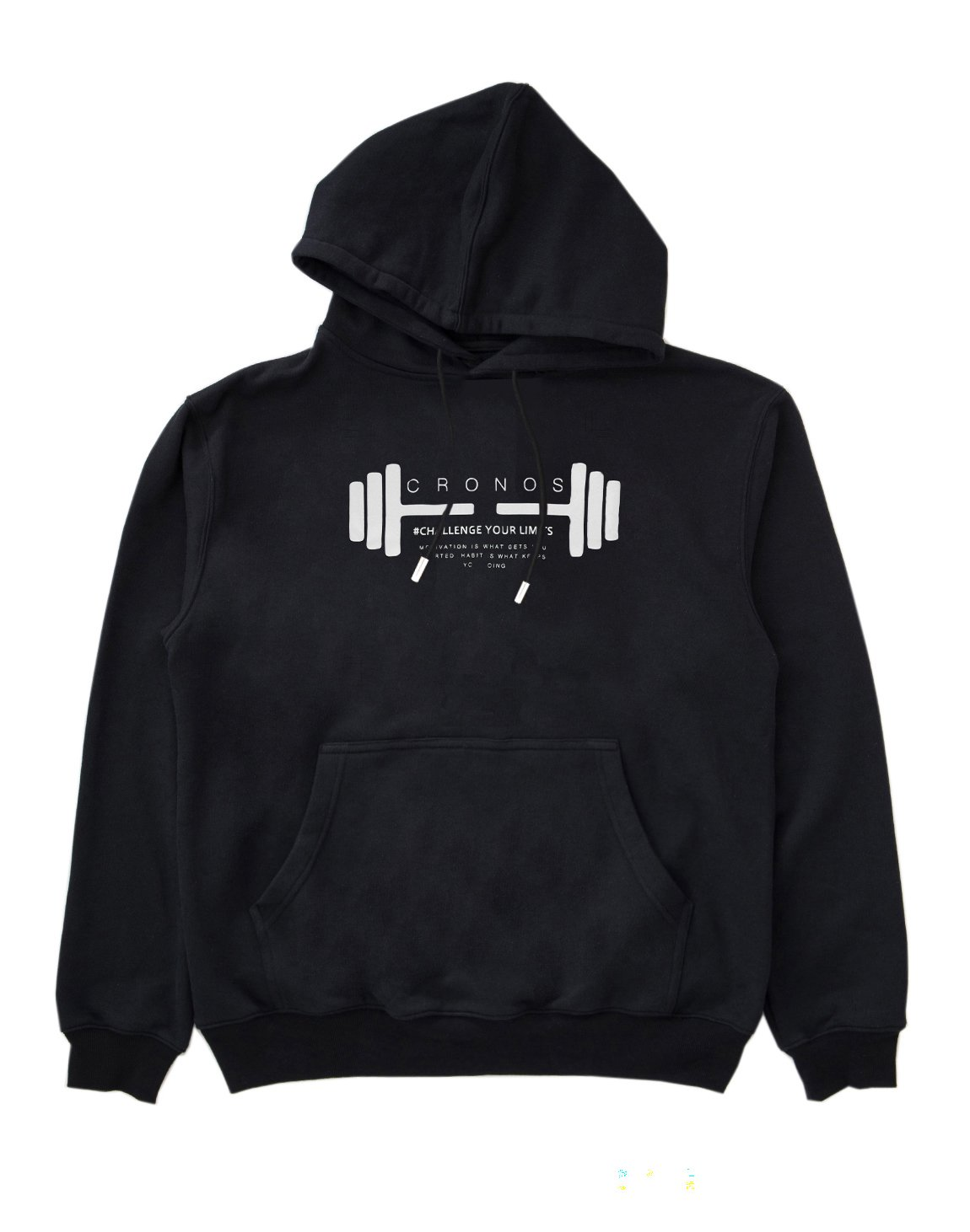 <img class='new_mark_img1' src='https://img.shop-pro.jp/img/new/icons1.gif' style='border:none;display:inline;margin:0px;padding:0px;width:auto;' />CRONOS DUMBBELL LOGO HOODY【BLACK】