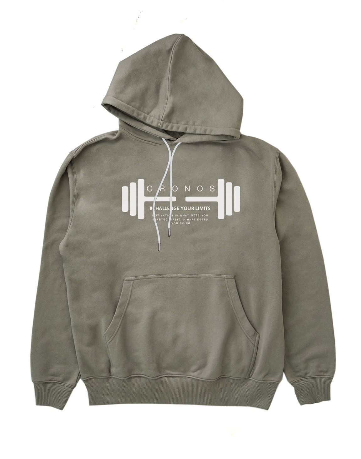 <img class='new_mark_img1' src='https://img.shop-pro.jp/img/new/icons55.gif' style='border:none;display:inline;margin:0px;padding:0px;width:auto;' />CRONOS DUMBBELL LOGO HOODY【GRAY】