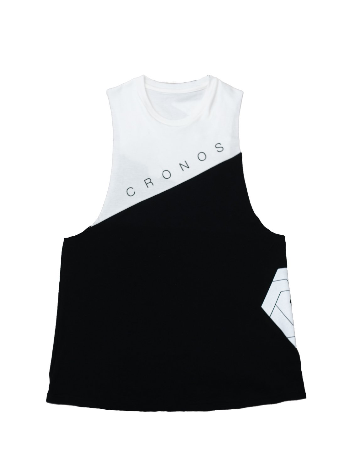 <img class='new_mark_img1' src='https://img.shop-pro.jp/img/new/icons55.gif' style='border:none;display:inline;margin:0px;padding:0px;width:auto;' />CRONOS NEW Bi-COLOR TANK TOP【BLACK×WHITE】