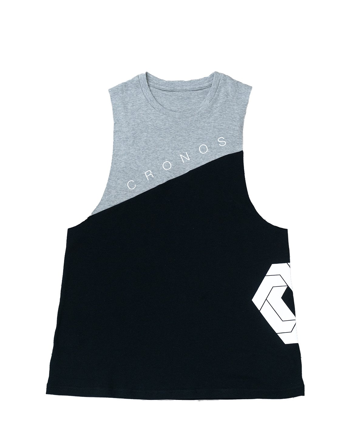 <img class='new_mark_img1' src='https://img.shop-pro.jp/img/new/icons55.gif' style='border:none;display:inline;margin:0px;padding:0px;width:auto;' />CRONOS NEW Bi-COLOR TANK TOP【BLACK×GRAY】