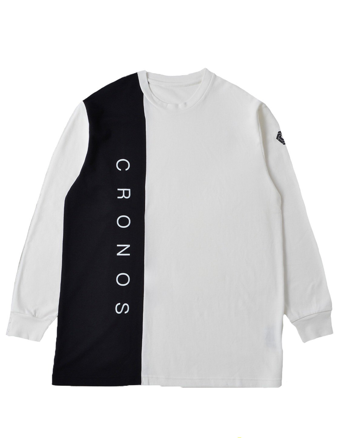 <img class='new_mark_img1' src='https://img.shop-pro.jp/img/new/icons1.gif' style='border:none;display:inline;margin:0px;padding:0px;width:auto;' />CRONOS RIGHT SIDE LINE LONGSLEEVE【WHITE】