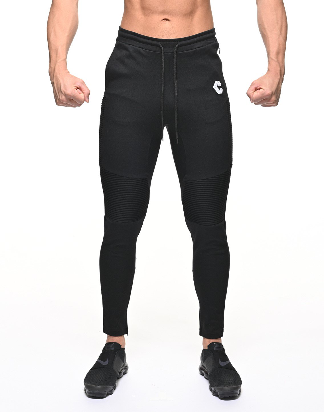 <img class='new_mark_img1' src='https://img.shop-pro.jp/img/new/icons55.gif' style='border:none;display:inline;margin:0px;padding:0px;width:auto;' />CRONOS BIKER PANTS【BLACK】