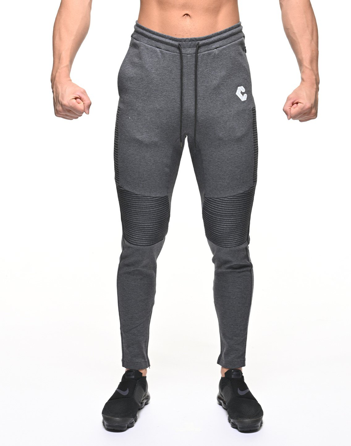 <img class='new_mark_img1' src='https://img.shop-pro.jp/img/new/icons55.gif' style='border:none;display:inline;margin:0px;padding:0px;width:auto;' />CRONOS BIKER PANTS【GRAY】