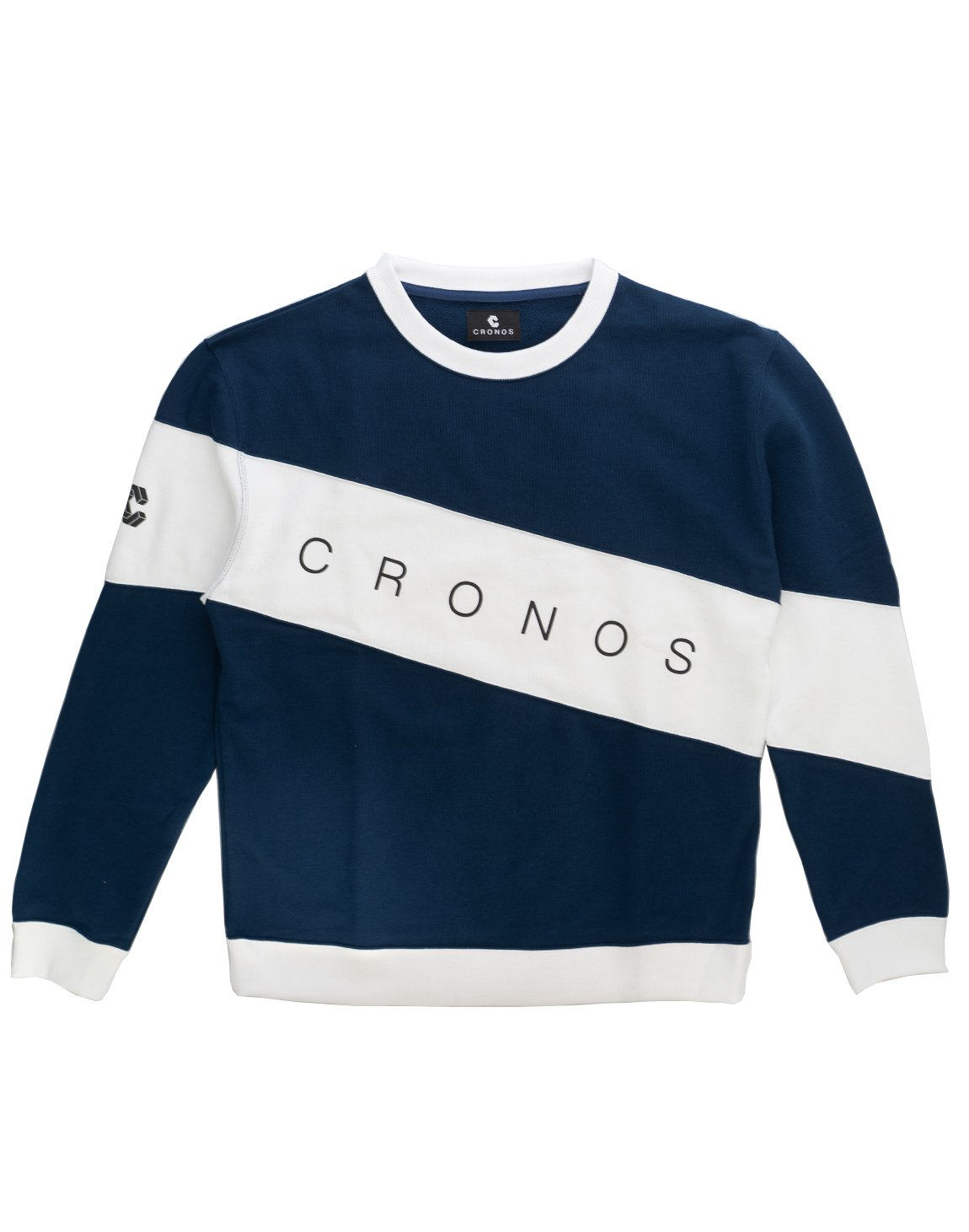 <img class='new_mark_img1' src='https://img.shop-pro.jp/img/new/icons1.gif' style='border:none;display:inline;margin:0px;padding:0px;width:auto;' />CRONOS FRONT THICK LINE TRAINER【NAVY】
