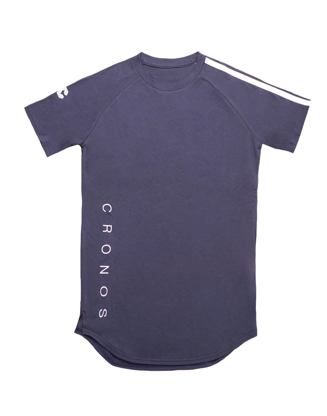 <img class='new_mark_img1' src='https://img.shop-pro.jp/img/new/icons55.gif' style='border:none;display:inline;margin:0px;padding:0px;width:auto;' />CRONOS SHOULDER TWO LINE T-SHIRTS【NAVY】