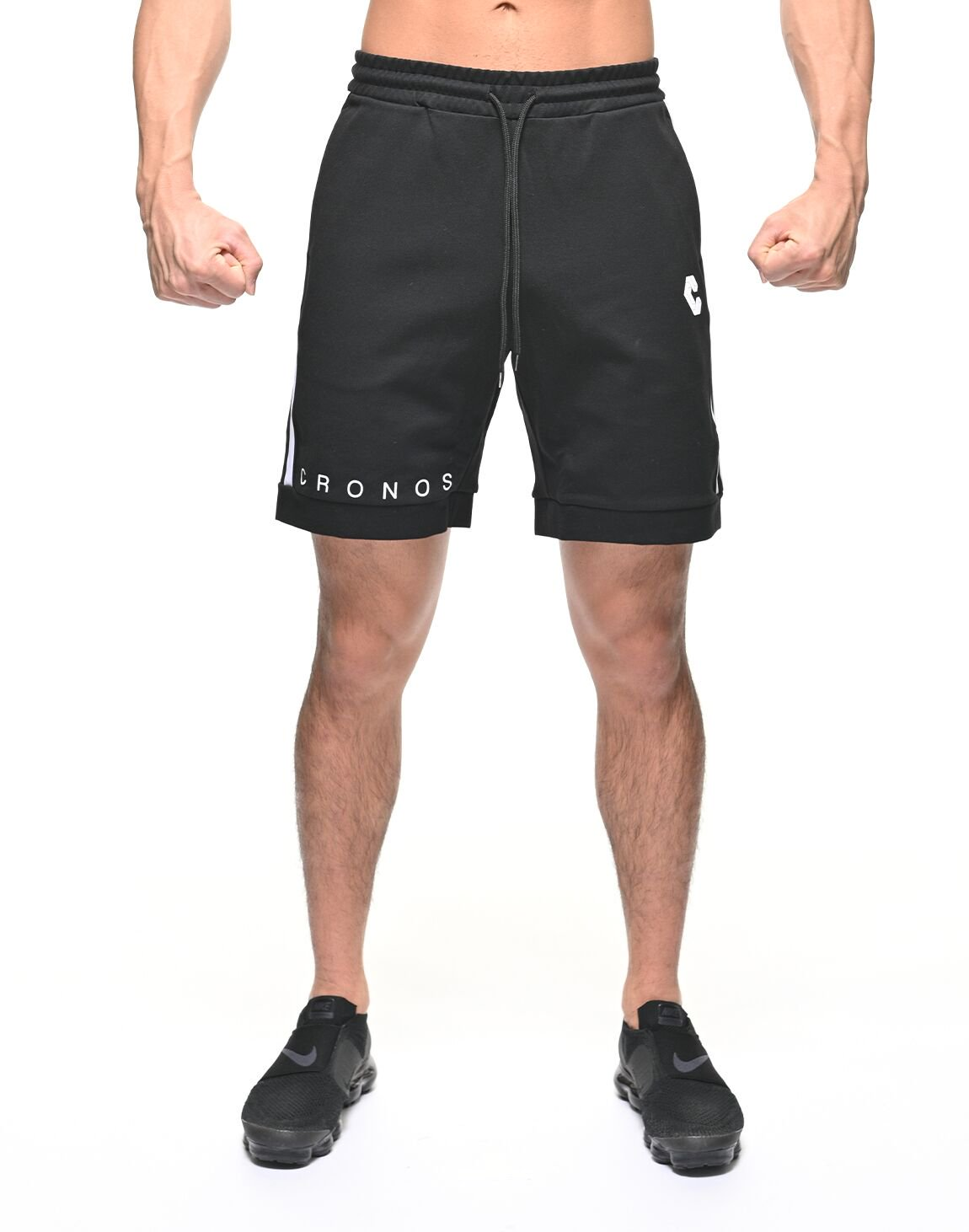 <img class='new_mark_img1' src='https://img.shop-pro.jp/img/new/icons55.gif' style='border:none;display:inline;margin:0px;padding:0px;width:auto;' />CRONOS TWOLINE  SHORTS【BLACK】
