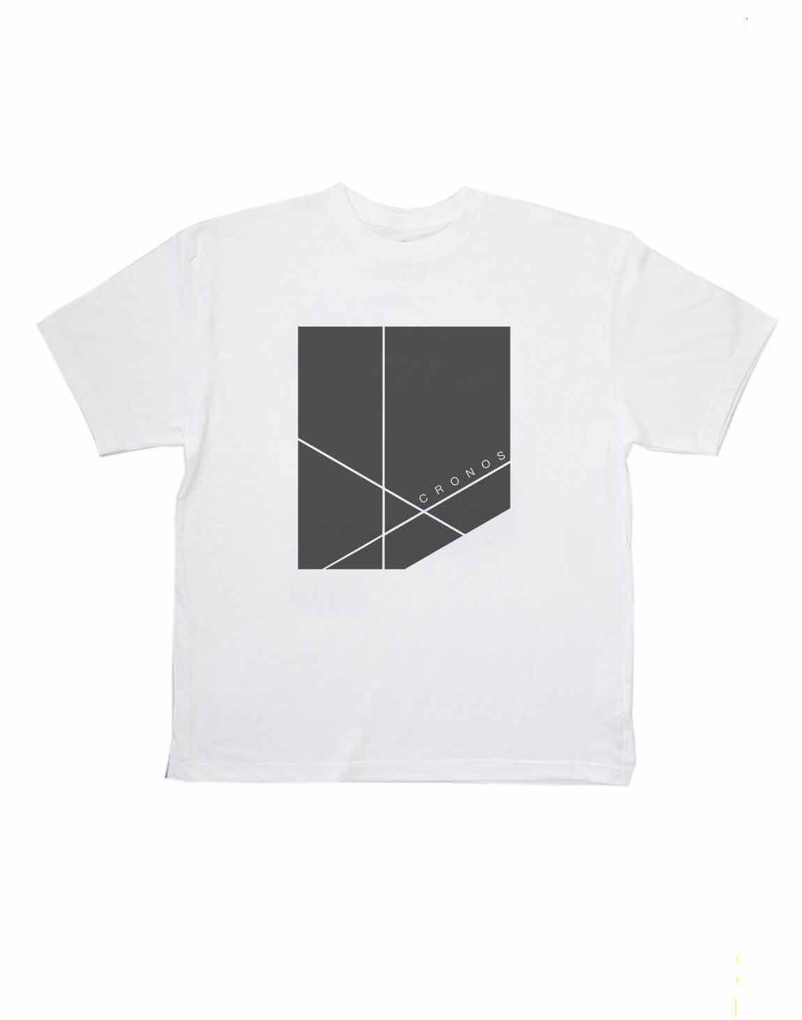 <img class='new_mark_img1' src='https://img.shop-pro.jp/img/new/icons1.gif' style='border:none;display:inline;margin:0px;padding:0px;width:auto;' />CRONOS NEW BOX LOGO OVER SIZE T-SHIRTS【WHITE】