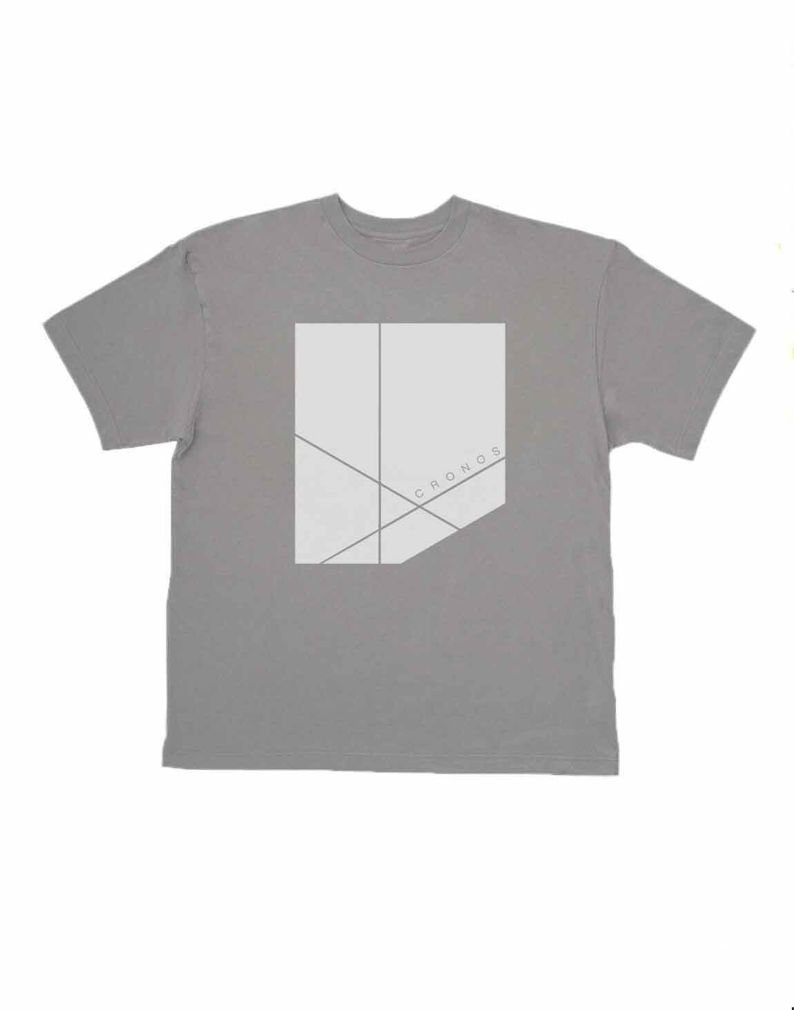 <img class='new_mark_img1' src='https://img.shop-pro.jp/img/new/icons1.gif' style='border:none;display:inline;margin:0px;padding:0px;width:auto;' />CRONOS NEW BOX LOGO OVER SIZE T-SHIRTS【GRAY】