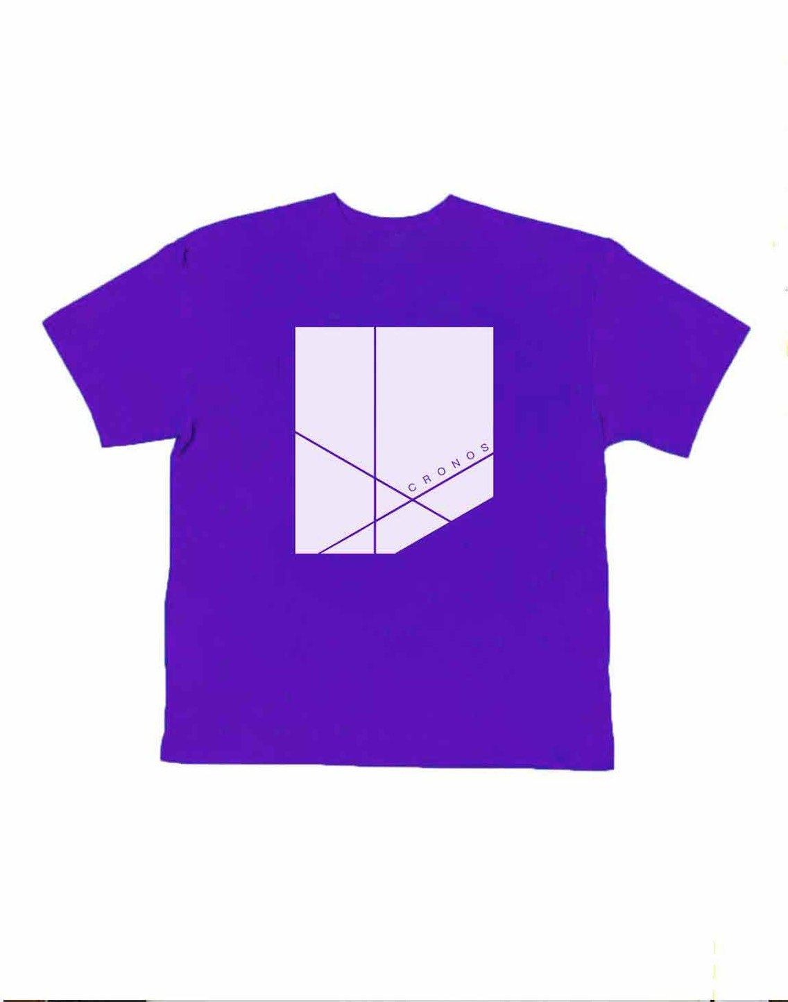 <img class='new_mark_img1' src='https://img.shop-pro.jp/img/new/icons1.gif' style='border:none;display:inline;margin:0px;padding:0px;width:auto;' />CRONOS NEW BOX LOGO OVER SIZE T-SHIRTS【PURPLE】