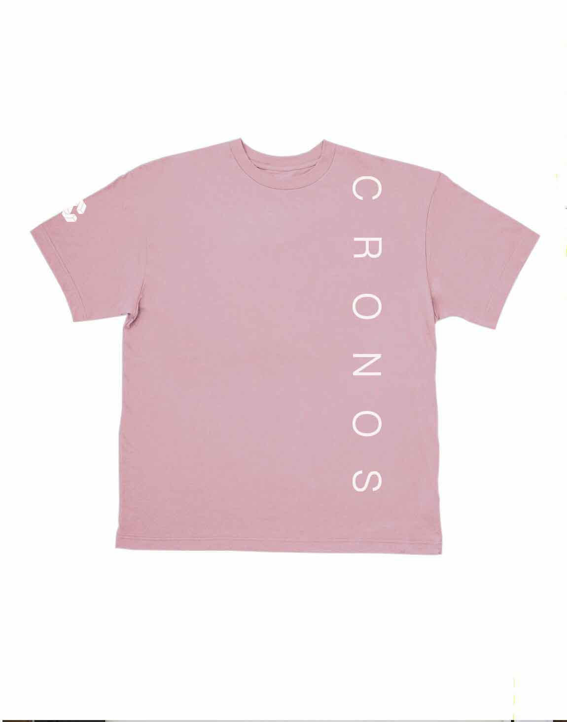 <img class='new_mark_img1' src='https://img.shop-pro.jp/img/new/icons1.gif' style='border:none;display:inline;margin:0px;padding:0px;width:auto;' />CRONOS SIMPLE LOGO T-SHIRTS【PINK】