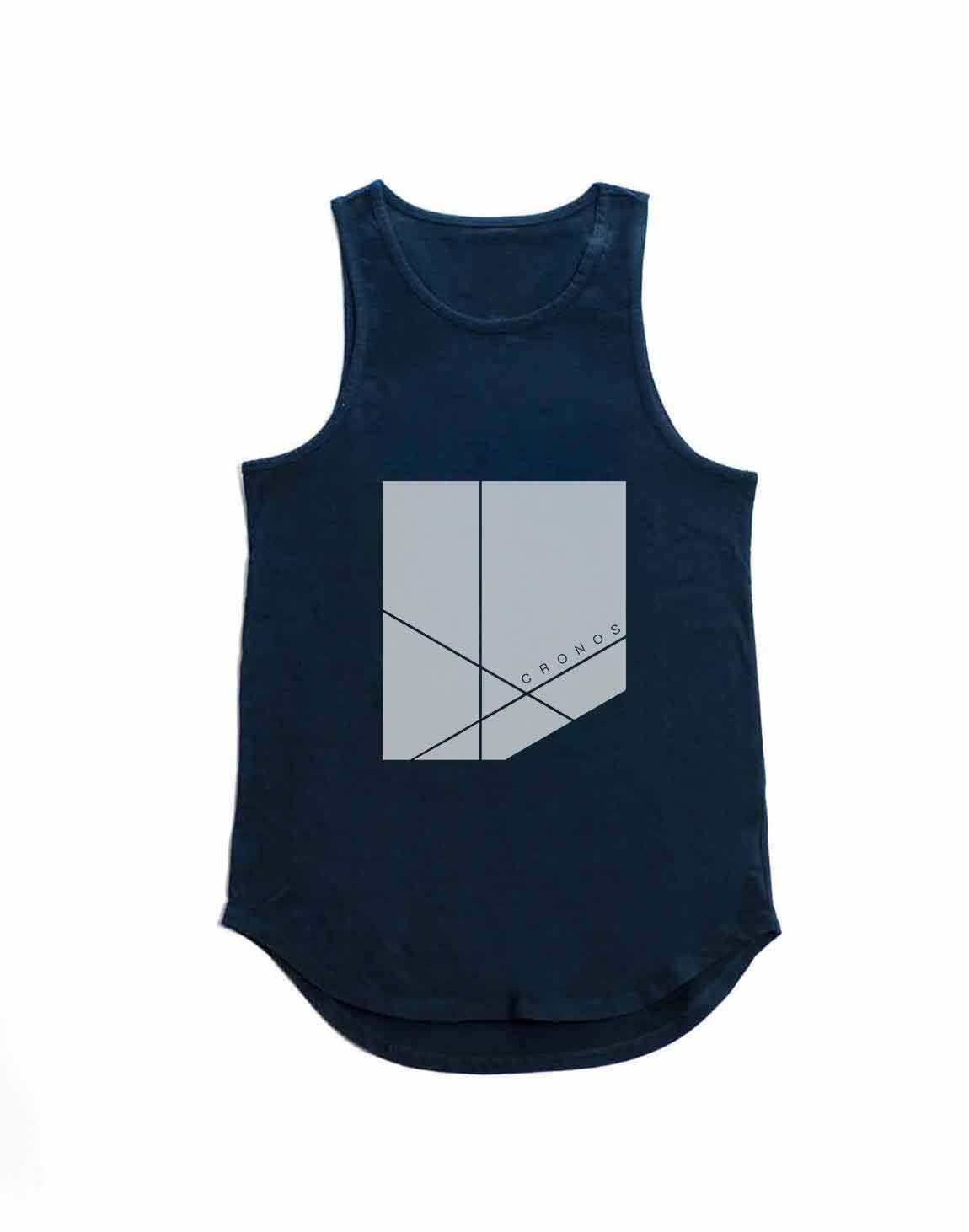 <img class='new_mark_img1' src='https://img.shop-pro.jp/img/new/icons1.gif' style='border:none;display:inline;margin:0px;padding:0px;width:auto;' />CRONOS NEW BOX LOGO TANK TOP【NAVY】
