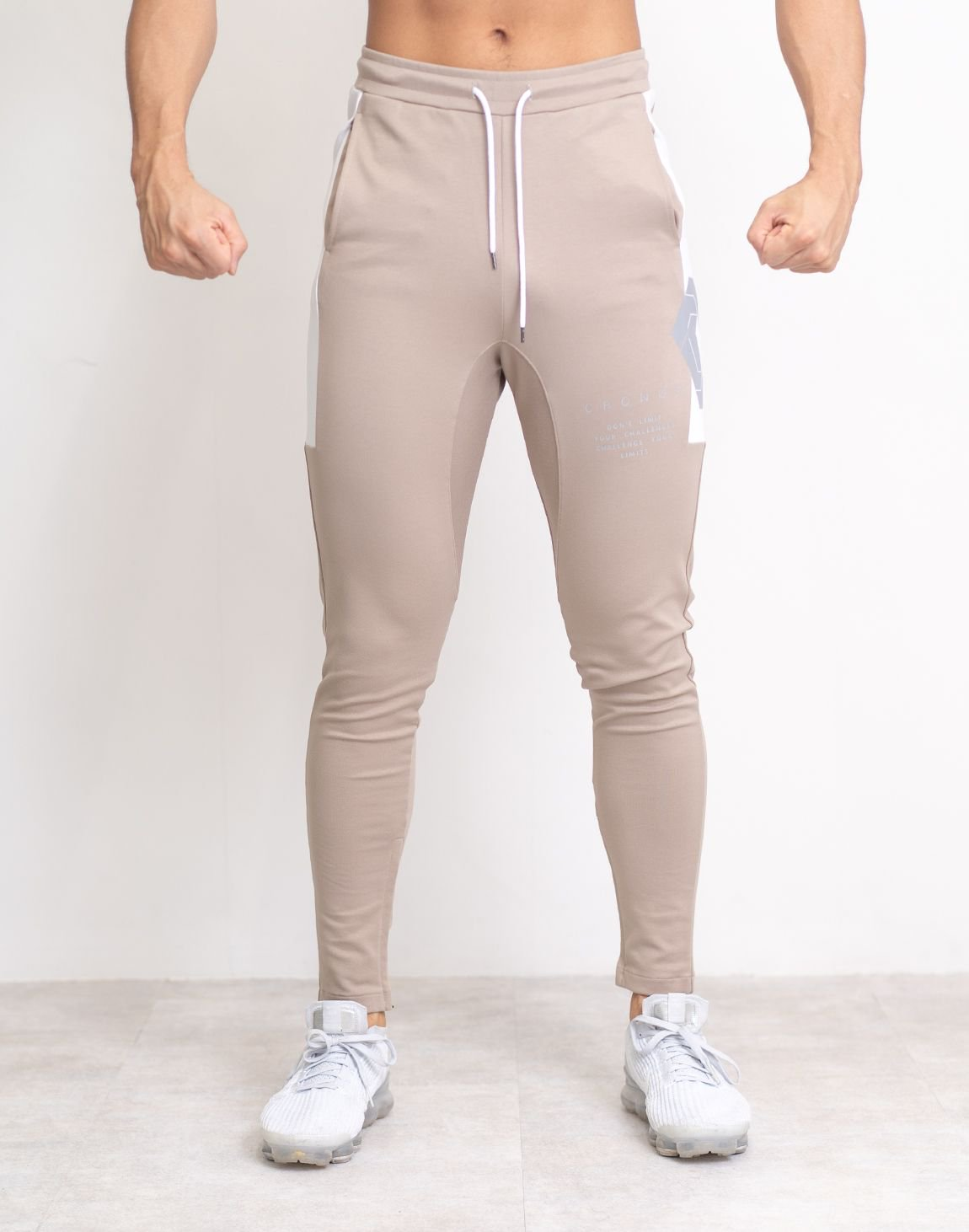 <img class='new_mark_img1' src='https://img.shop-pro.jp/img/new/icons1.gif' style='border:none;display:inline;margin:0px;padding:0px;width:auto;' />CRONOS SIDE BIG LOGO PANTS【BEIGE】
