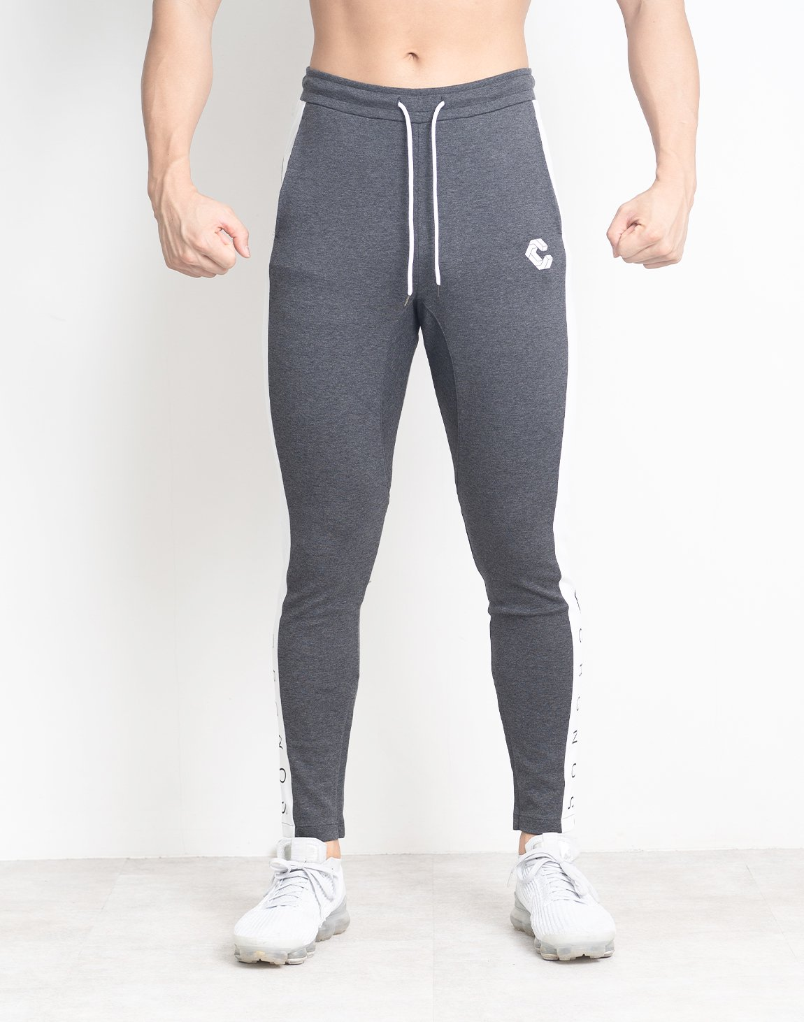 <img class='new_mark_img1' src='https://img.shop-pro.jp/img/new/icons55.gif' style='border:none;display:inline;margin:0px;padding:0px;width:auto;' />CRONOS SIDE FONT LOGO PANTS【C.GRAY】