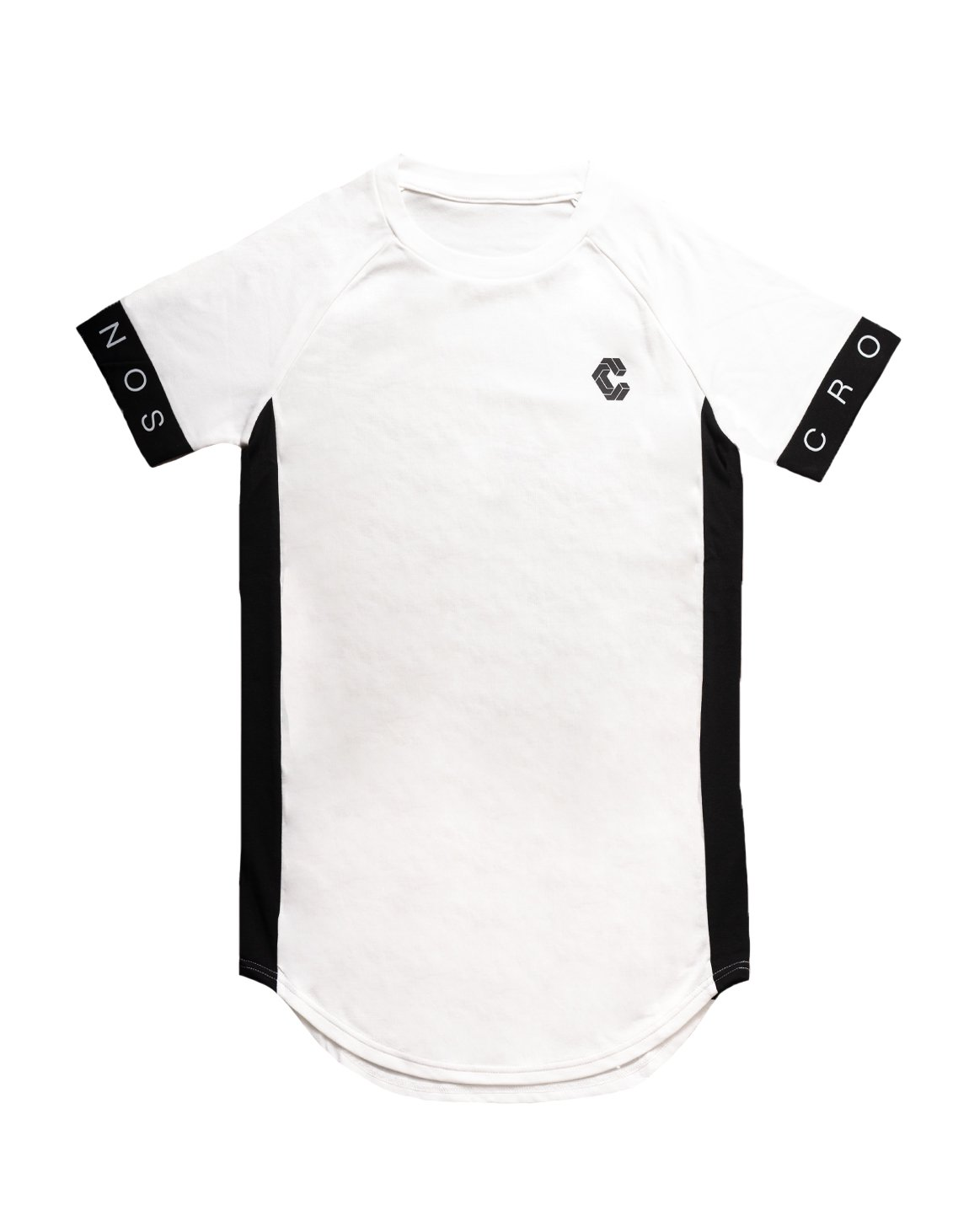 <img class='new_mark_img1' src='https://img.shop-pro.jp/img/new/icons1.gif' style='border:none;display:inline;margin:0px;padding:0px;width:auto;' />CUFF DESIGN LOGO TIGHT SIZE T-SHIRTS【WHITE】