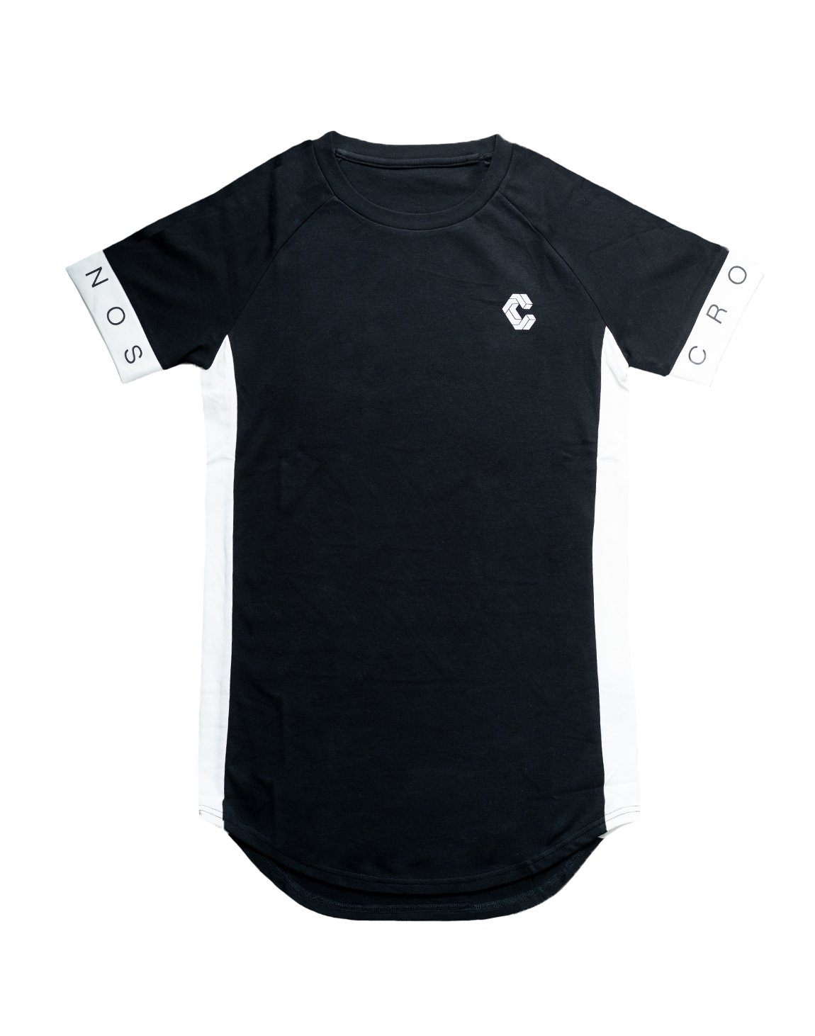 <img class='new_mark_img1' src='https://img.shop-pro.jp/img/new/icons1.gif' style='border:none;display:inline;margin:0px;padding:0px;width:auto;' />CUFF DESIGN LOGO TIGHT SIZE T-SHIRTS【BLACK】