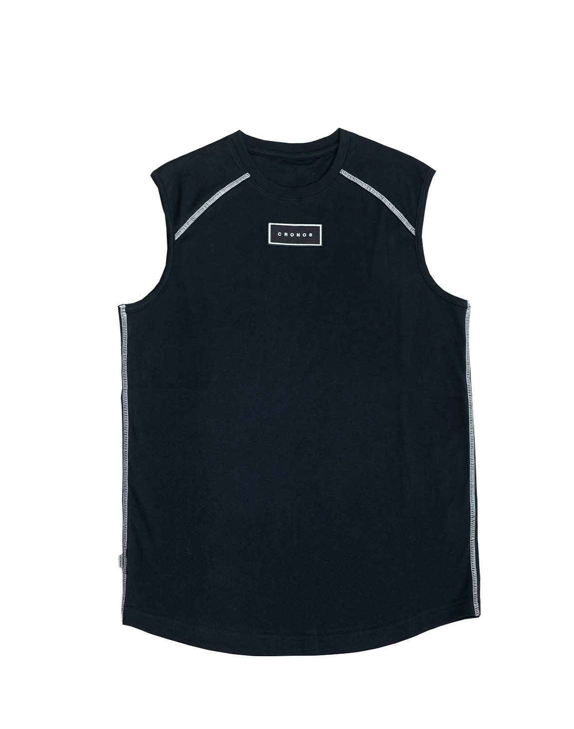 <img class='new_mark_img1' src='https://img.shop-pro.jp/img/new/icons55.gif' style='border:none;display:inline;margin:0px;padding:0px;width:auto;' />FRONT PATCH LOGO SLEEVELESS【BLACK】
