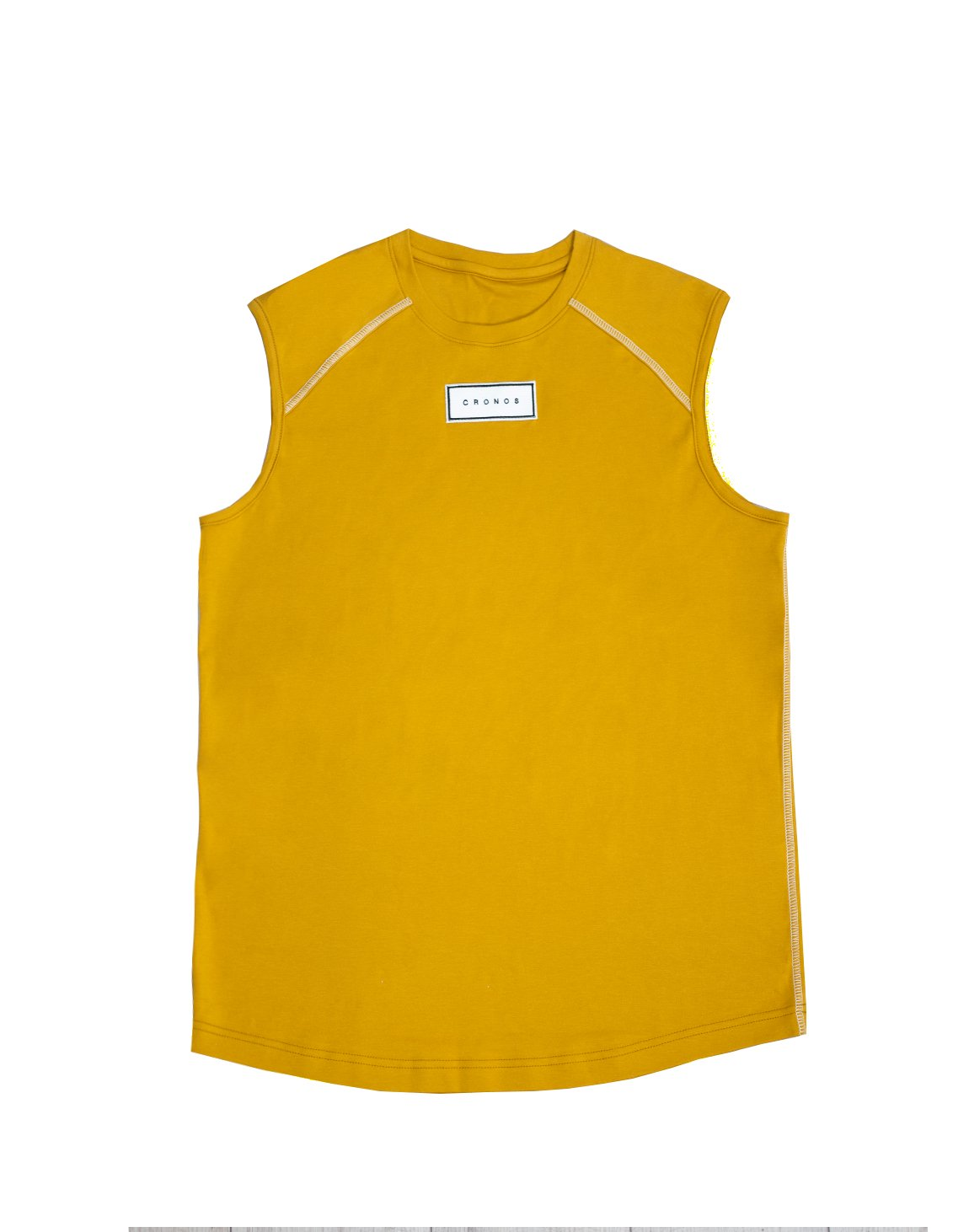 <img class='new_mark_img1' src='https://img.shop-pro.jp/img/new/icons1.gif' style='border:none;display:inline;margin:0px;padding:0px;width:auto;' />FRONT PATCH LOGO SLEEVELESS【YELLOW】