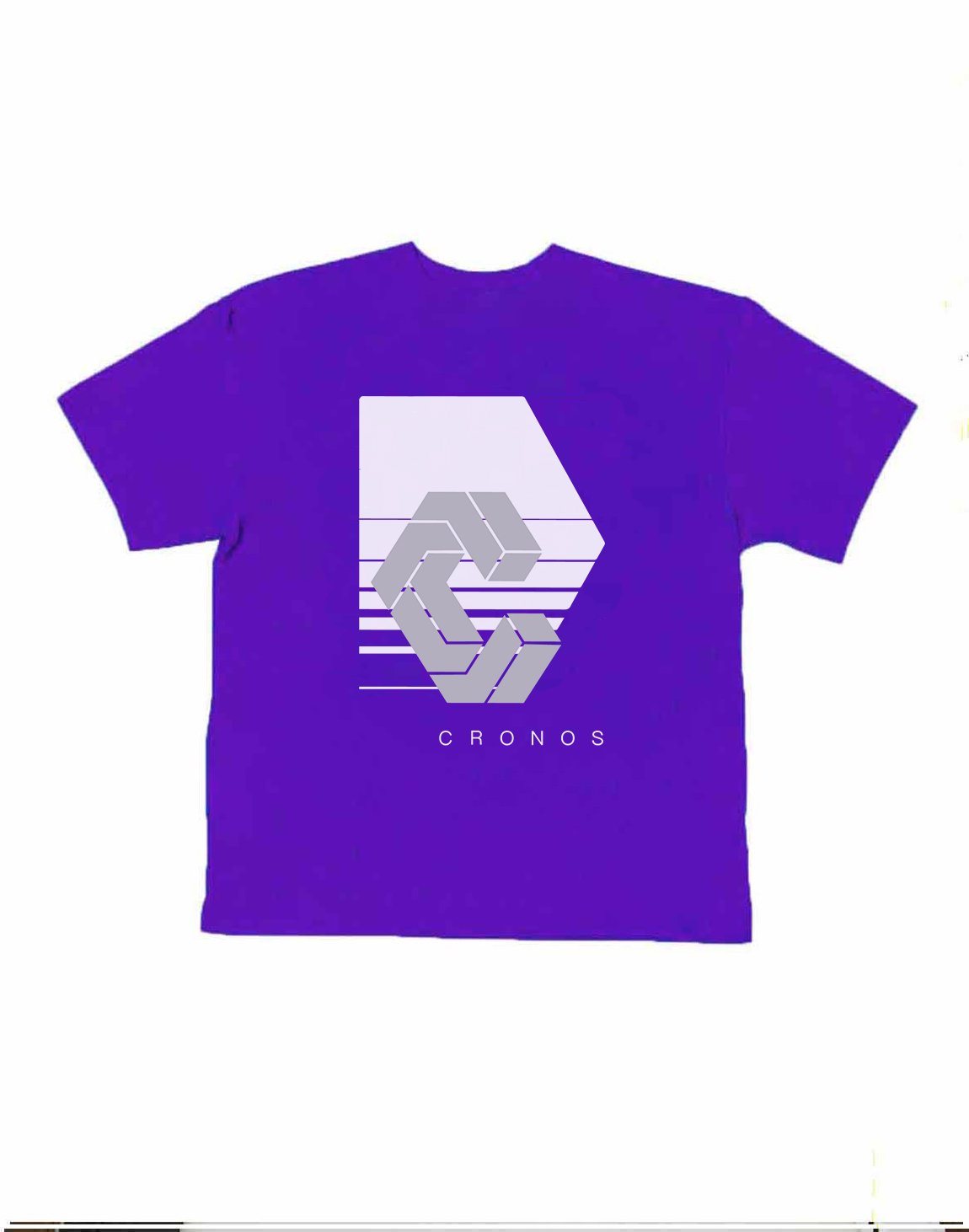 <img class='new_mark_img1' src='https://img.shop-pro.jp/img/new/icons1.gif' style='border:none;display:inline;margin:0px;padding:0px;width:auto;' />CRONOS REFLECTION LOGO OVER SIZE T-SHIRTS【PURPLE】