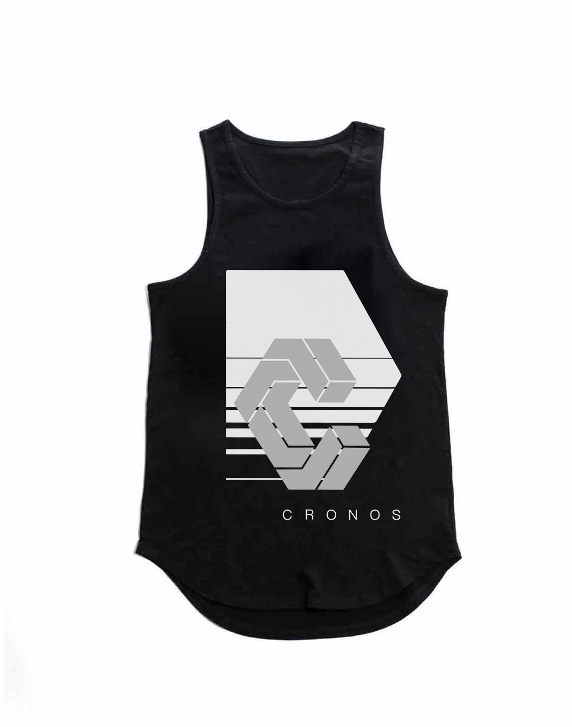 <img class='new_mark_img1' src='https://img.shop-pro.jp/img/new/icons1.gif' style='border:none;display:inline;margin:0px;padding:0px;width:auto;' />CRONOS REFLECTION LOGO TANK TOP【BLACK】