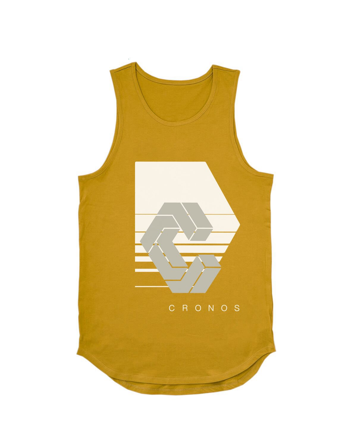 <img class='new_mark_img1' src='https://img.shop-pro.jp/img/new/icons1.gif' style='border:none;display:inline;margin:0px;padding:0px;width:auto;' />CRONOS REFLECTION LOGO TANK TOP【YELLOW】